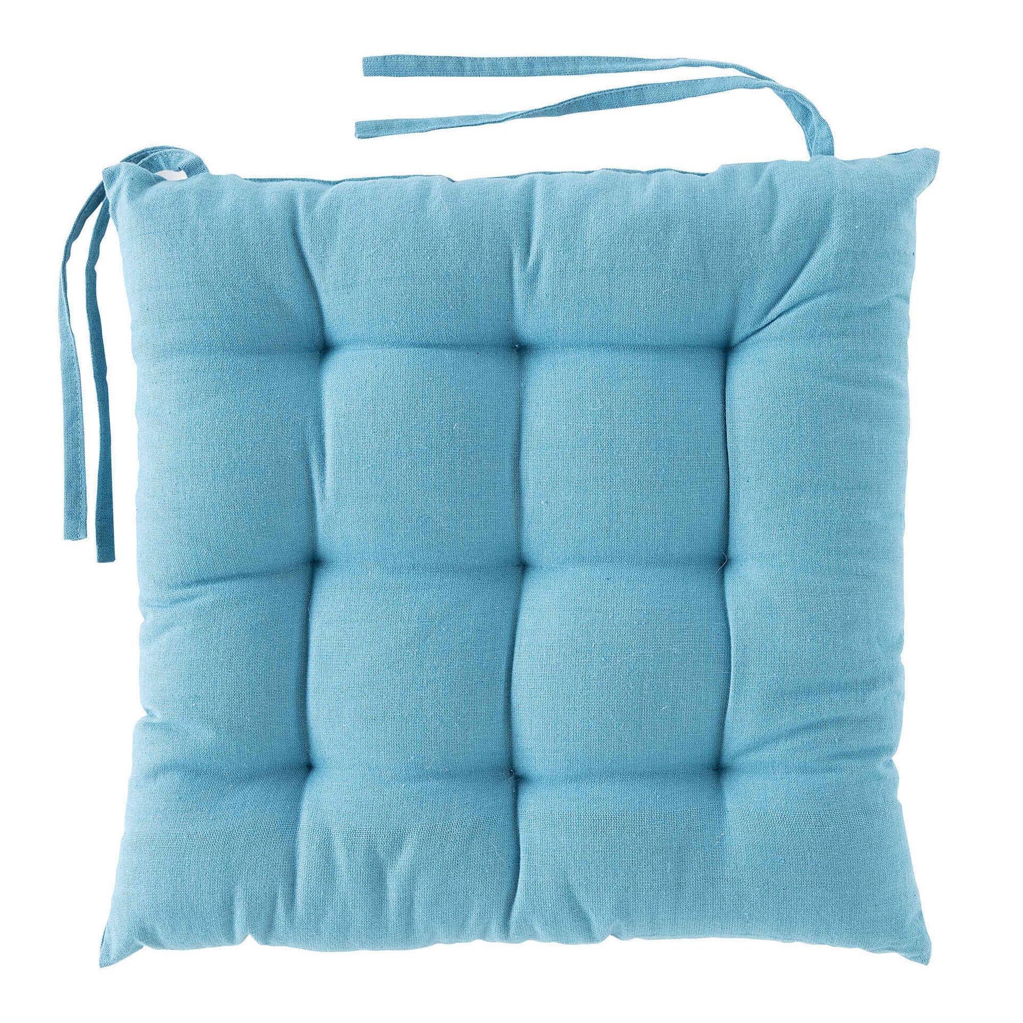 Coxim 40x40cm Azul