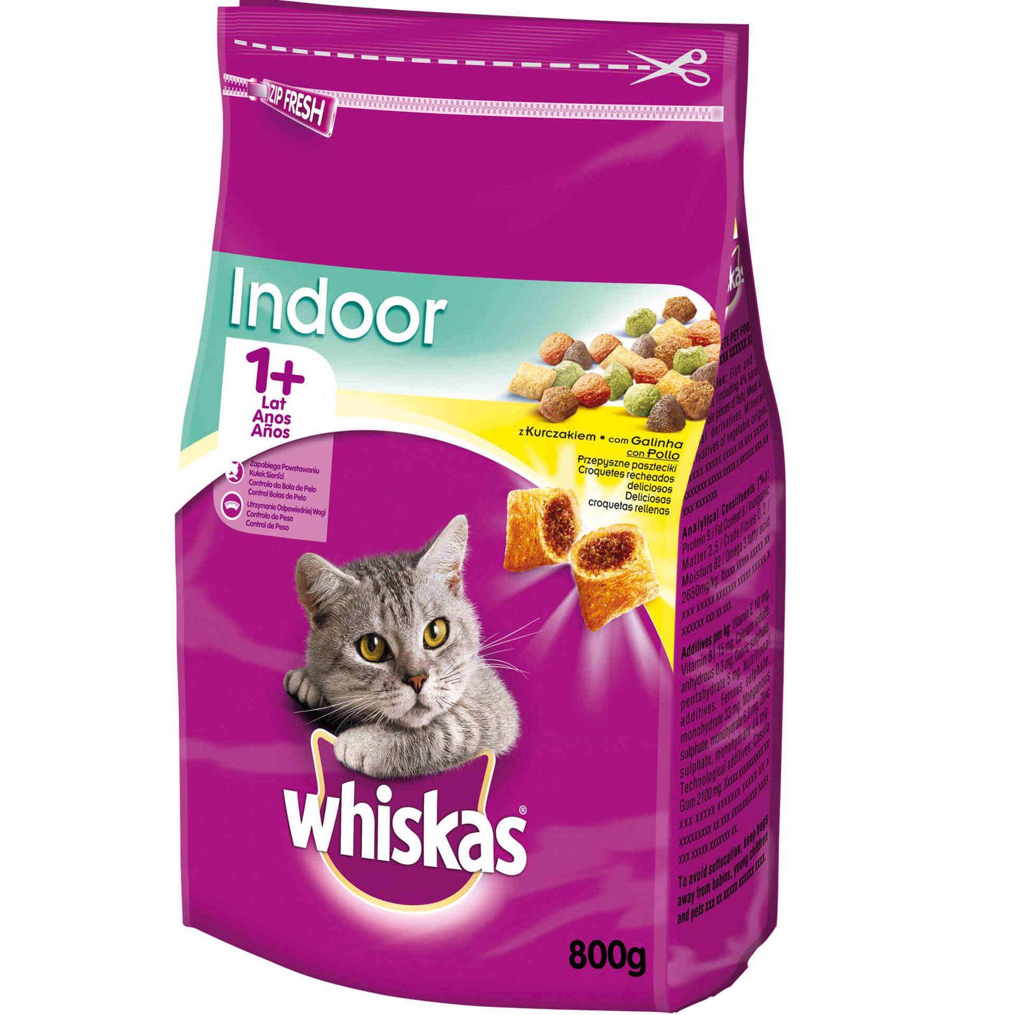 Ração para Gato Adulto Indoor Frango