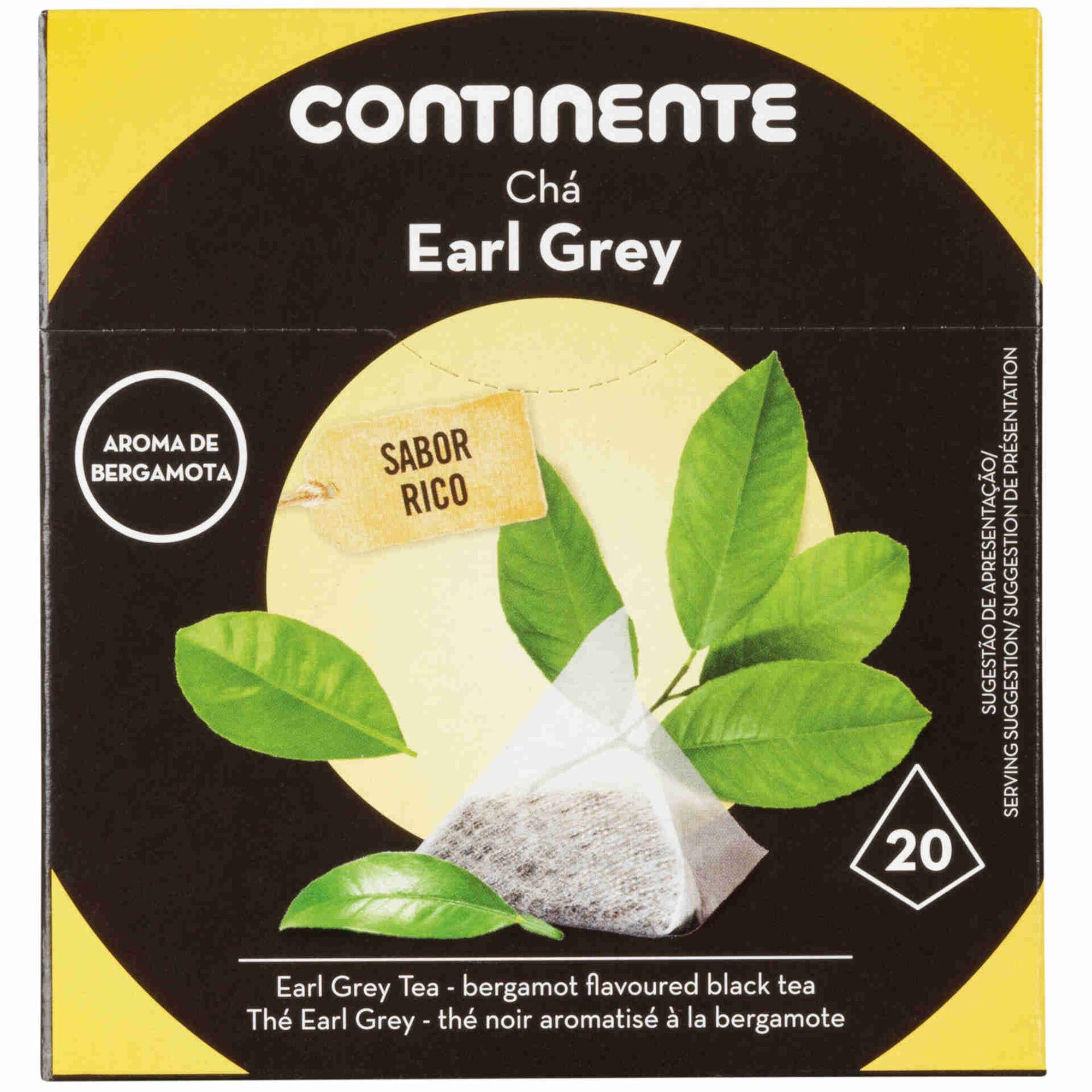 Chá Earl Grey Pyramid