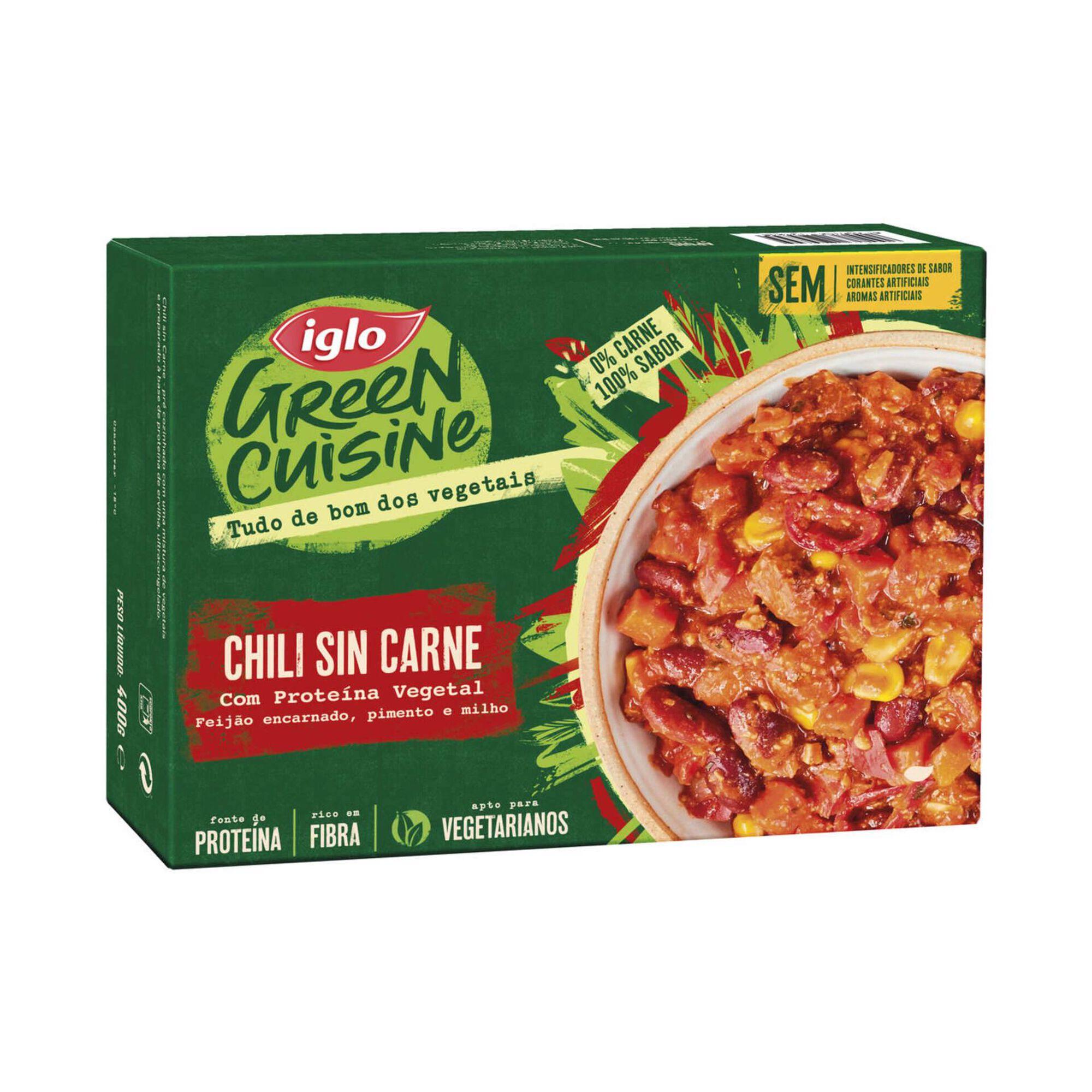 Chili Sin Carne com Proteína Vegetal
