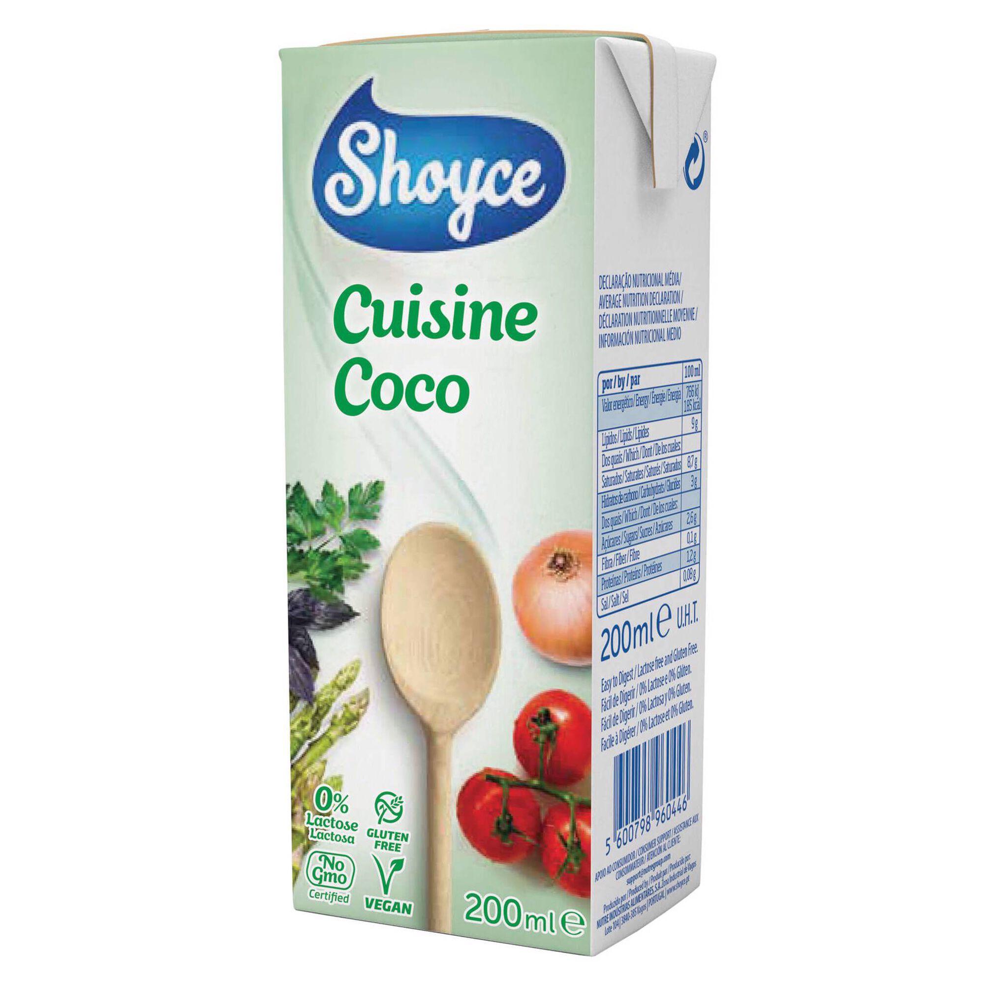 Creme Vegetal de Coco para Culinária