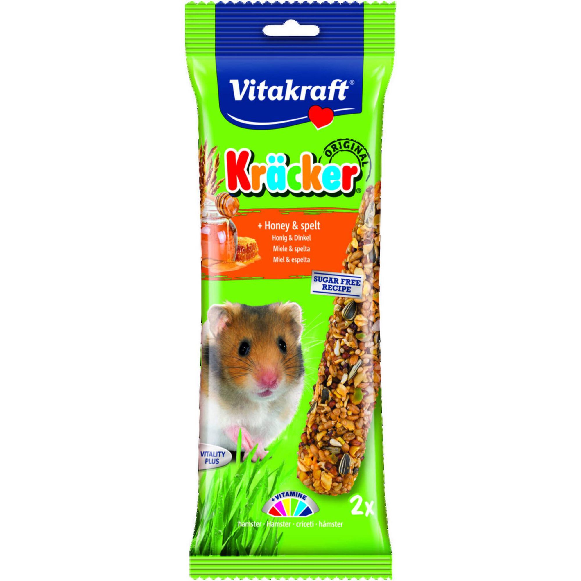 Comida para Hamster Barritas Mel