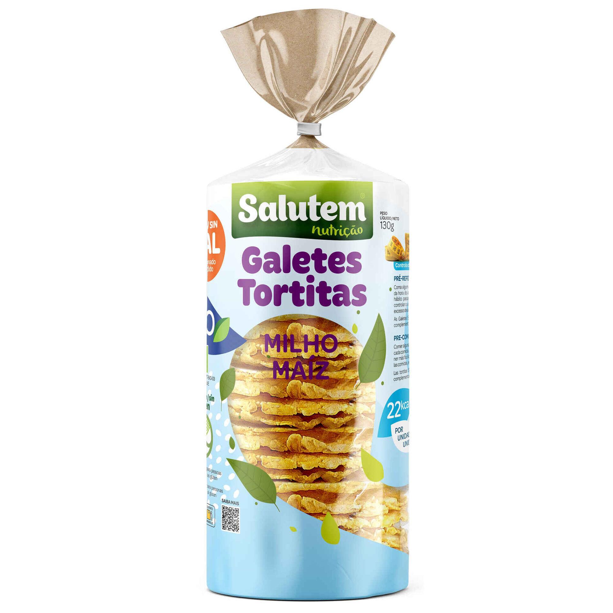 Tortitas de Milho sem Sal Biológicas