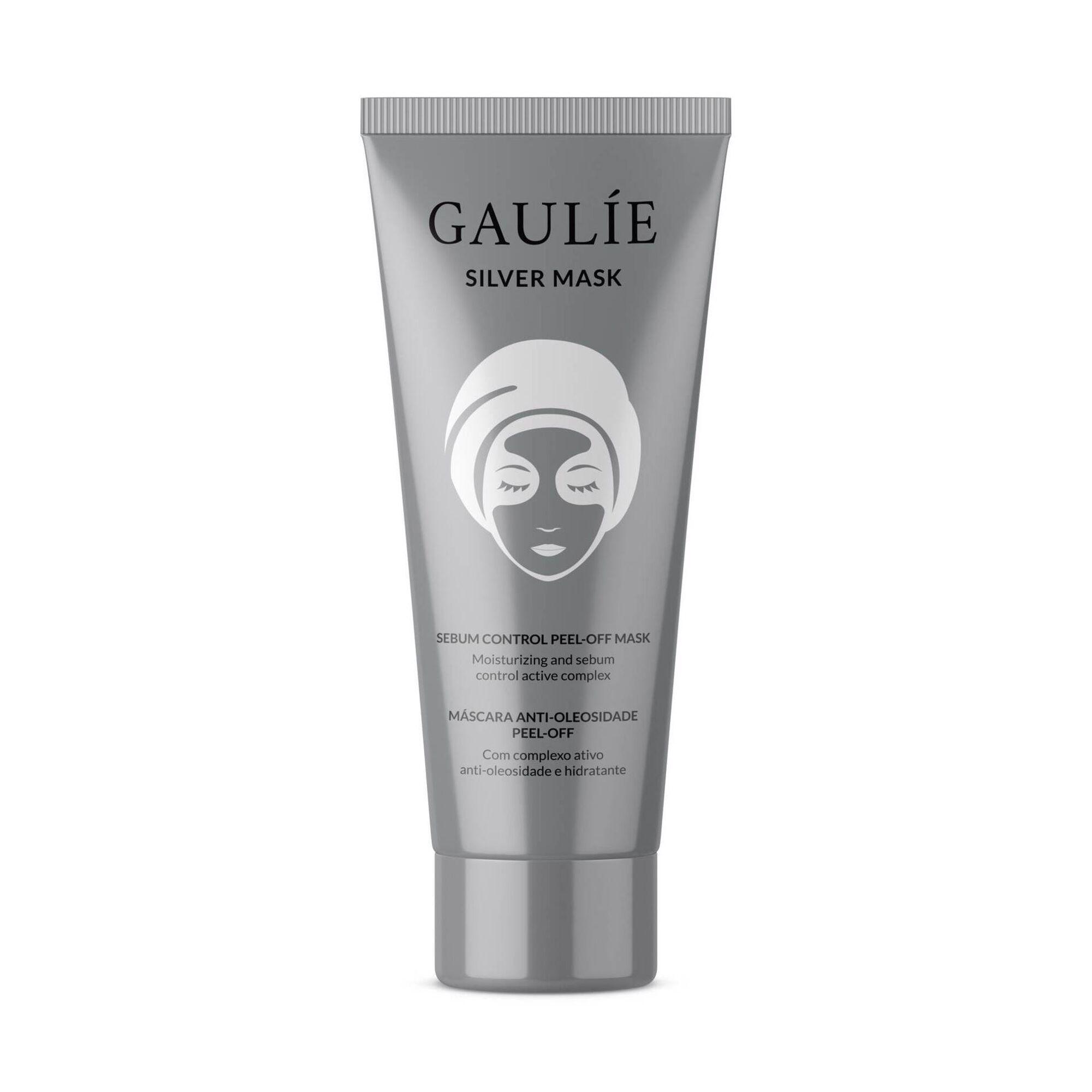 Máscara Facial Peel Off Antioleosidade