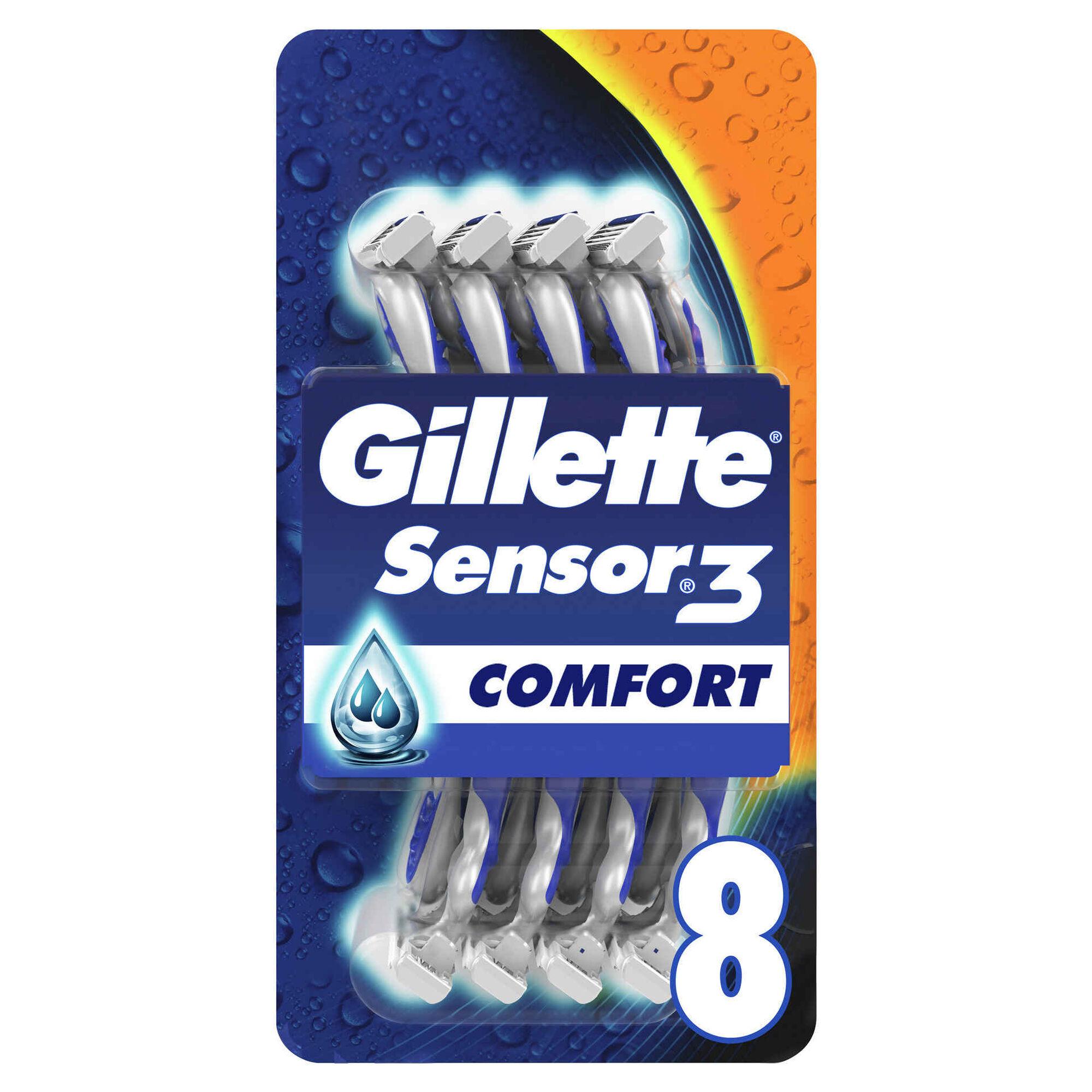 Lâminas Descartáveis Sensor 3 Comfort Sensitive