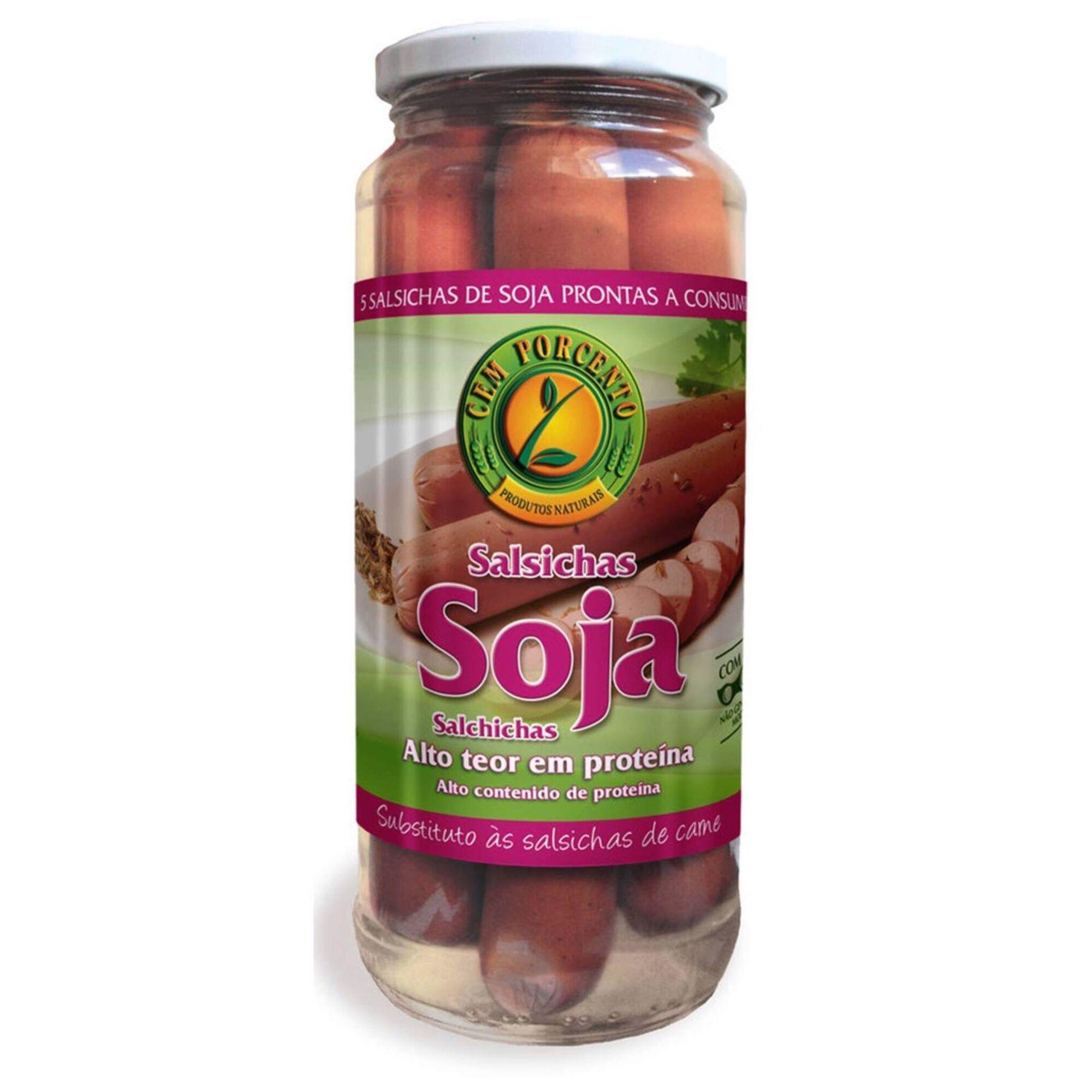 Salsichas de Soja