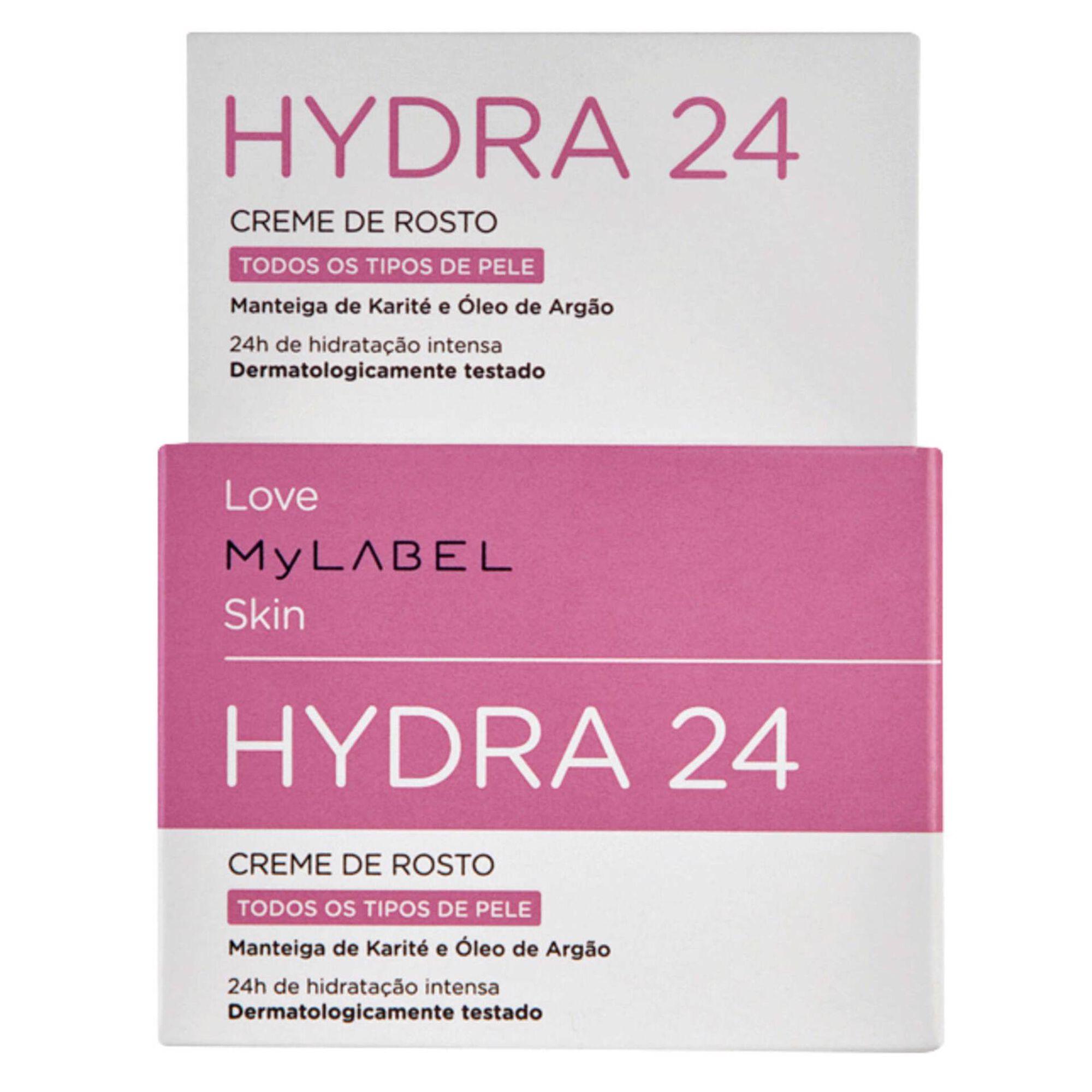 Creme Rosto Hydra 24