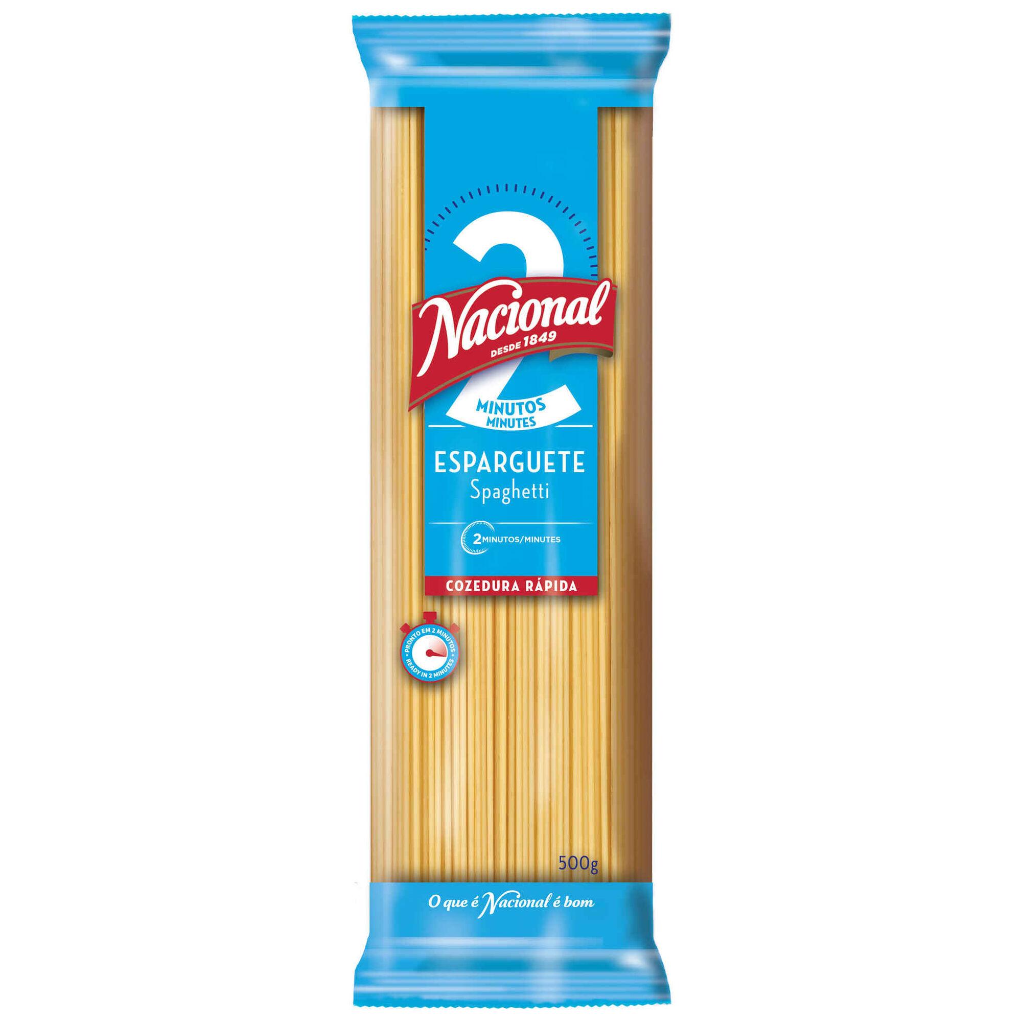 Massa Esparguete 2 Minutos