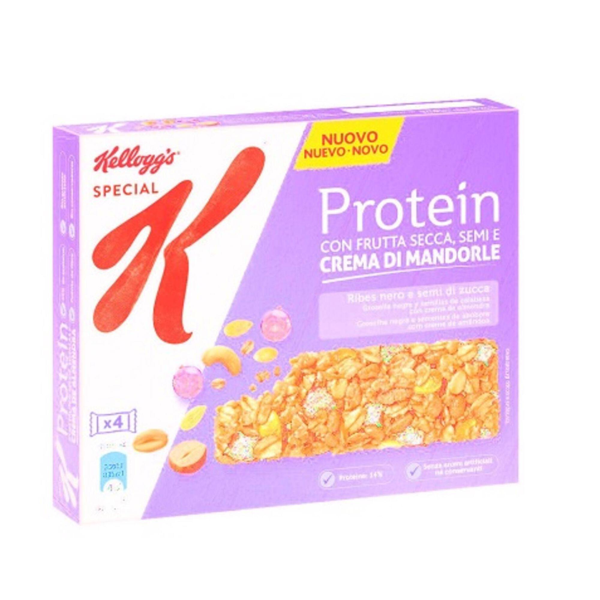 Barras de Cereais Proteína Groselha e Sementes de Abóbora Special K