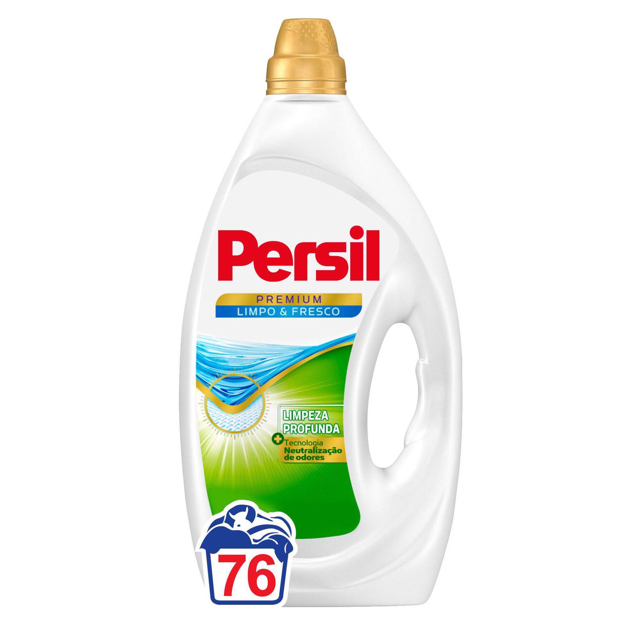 Detergente Máquina Roupa Líquido Limpo e Fresco
