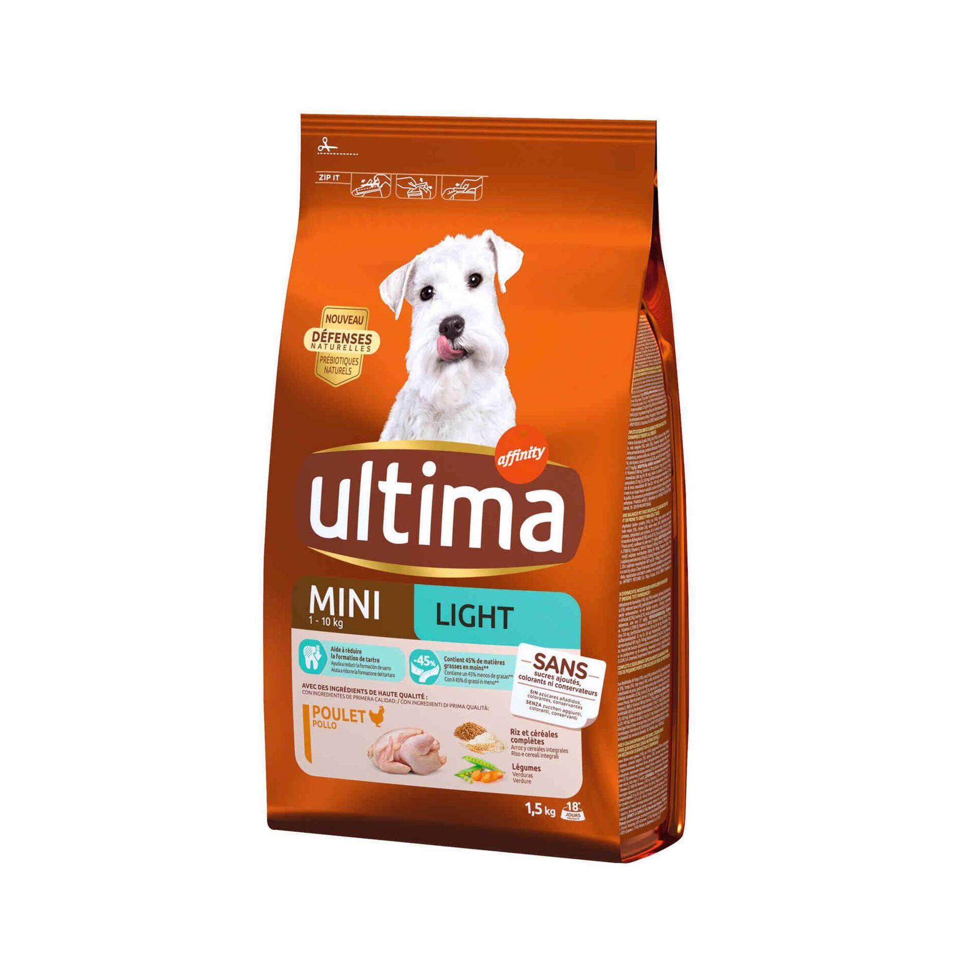 Ração para Cão Mini Light