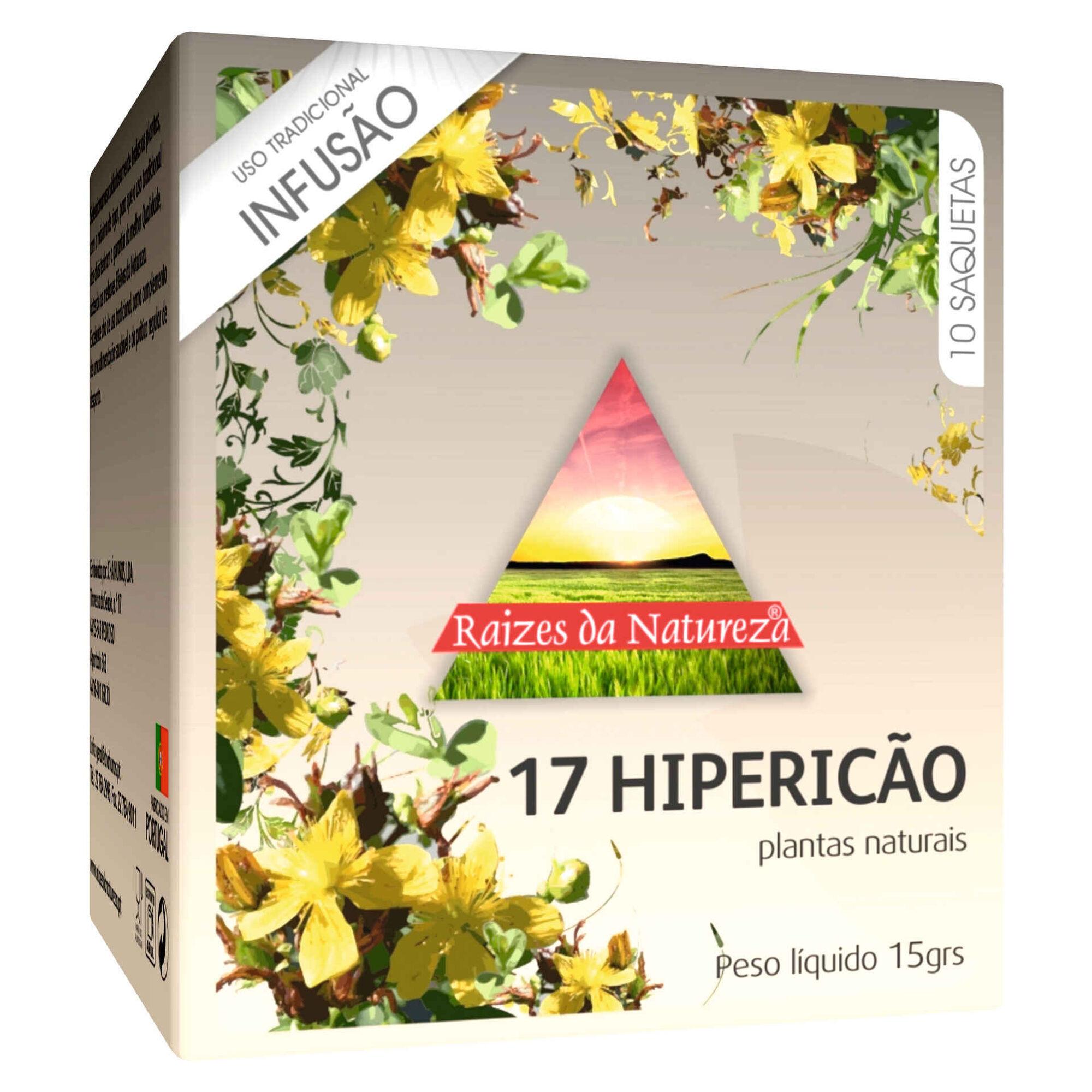 Infusão Nº17 Hipericão Saquetas