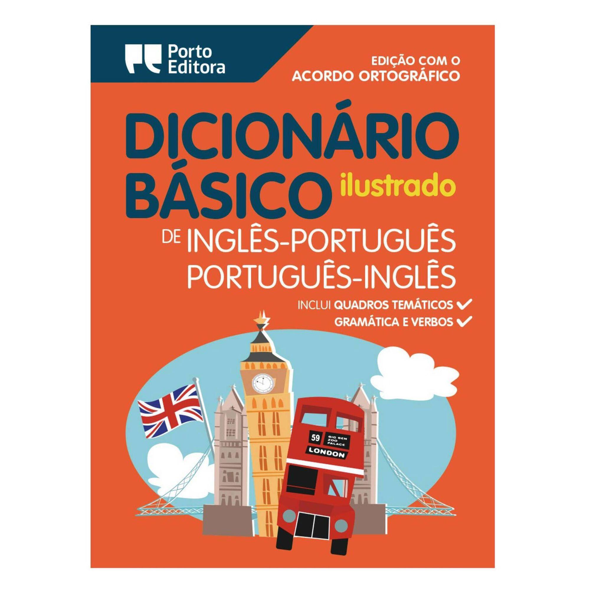 Dicionário Básico Ilustrado Português-Inglês/Inglês-Português