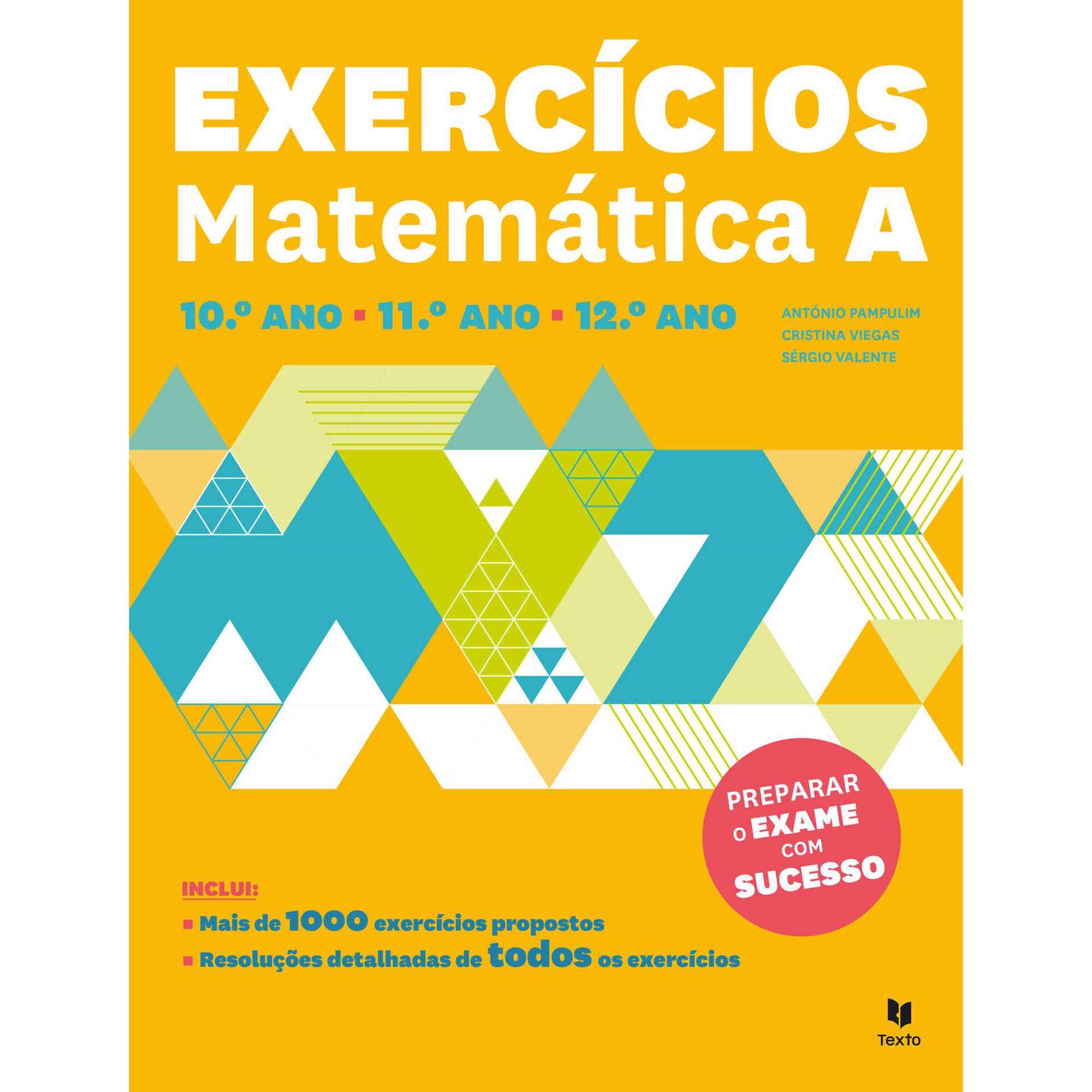 Exercícios Matemática - 10º, 11º e 12º Ano