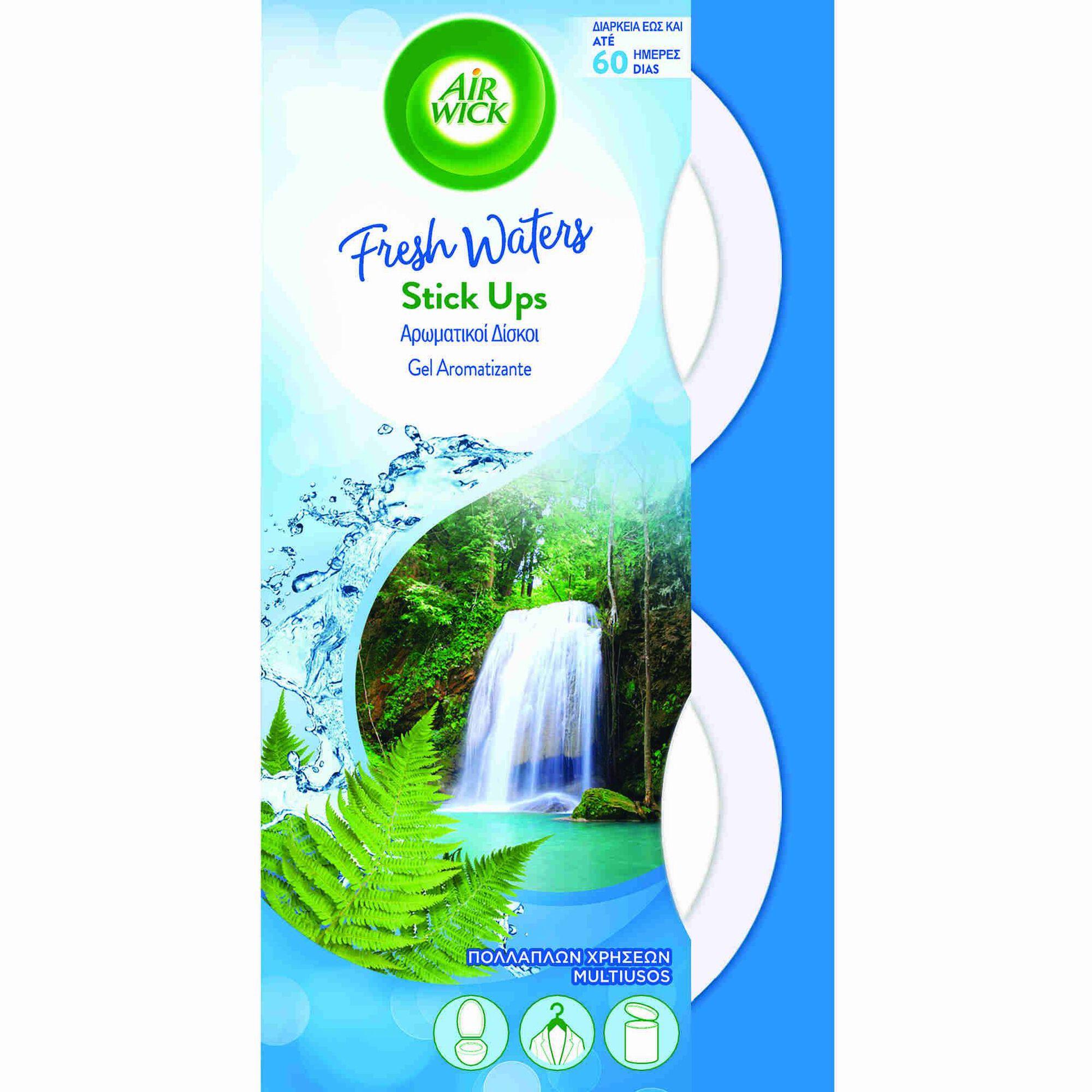 Ambientador Absorve Odores Stick Up Fresh Aqua