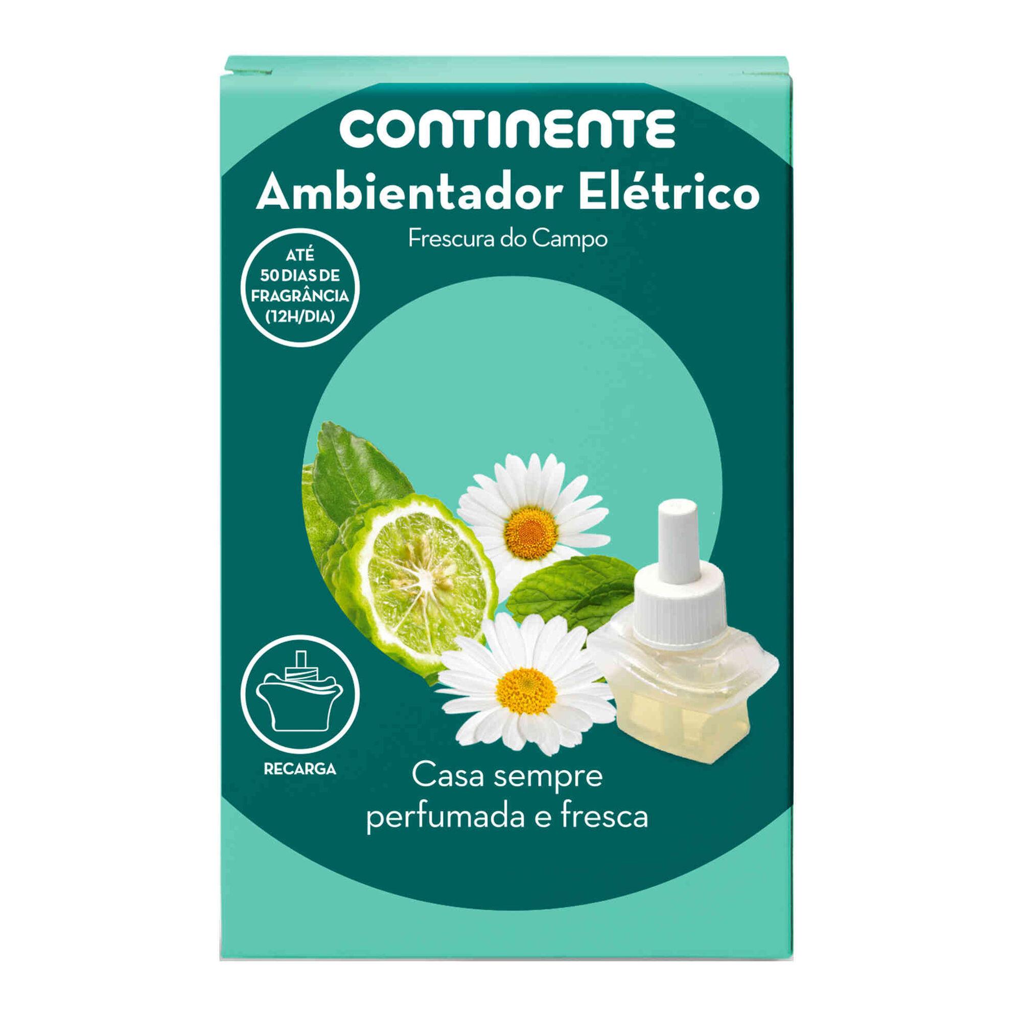 Ambientador Elétrico Recarga Frescura do Campo