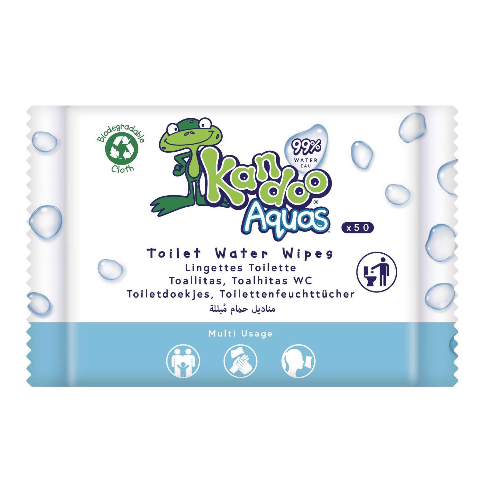 Toalhitas Criança Aqua Descartáveis