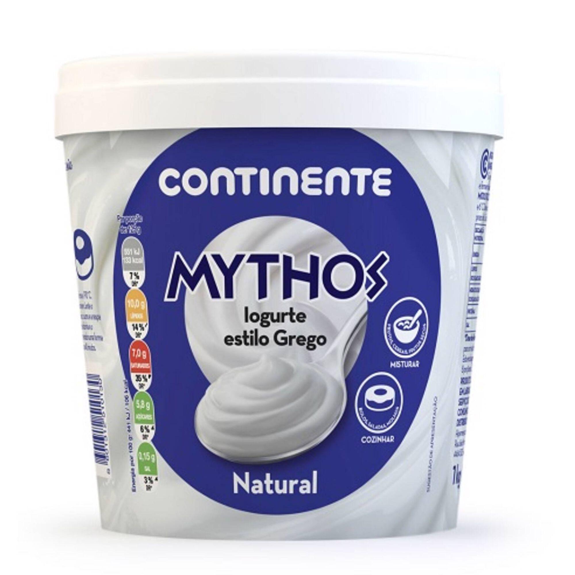 Iogurte Grego Mythos