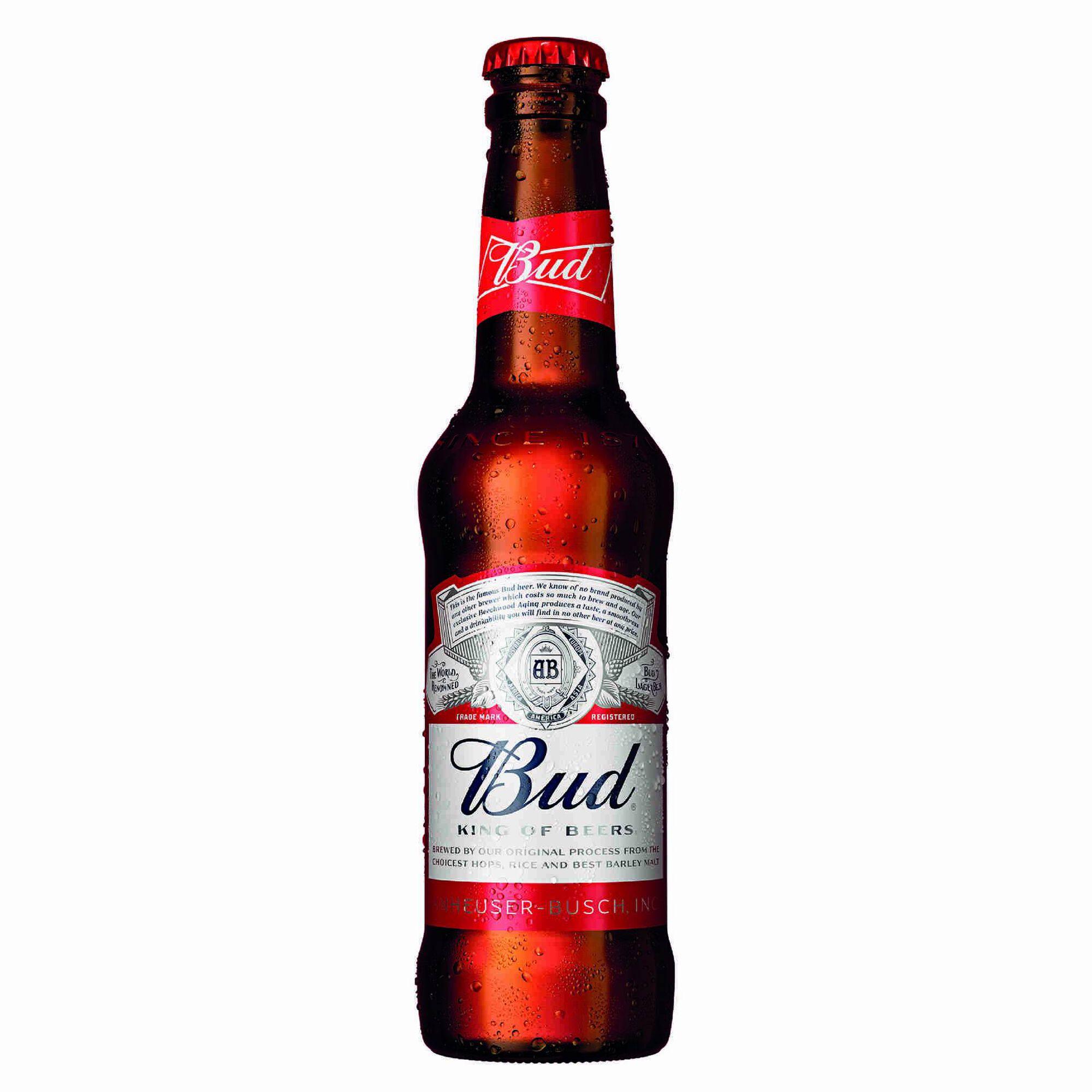 Cerveja com Álcool Bud Garrafa