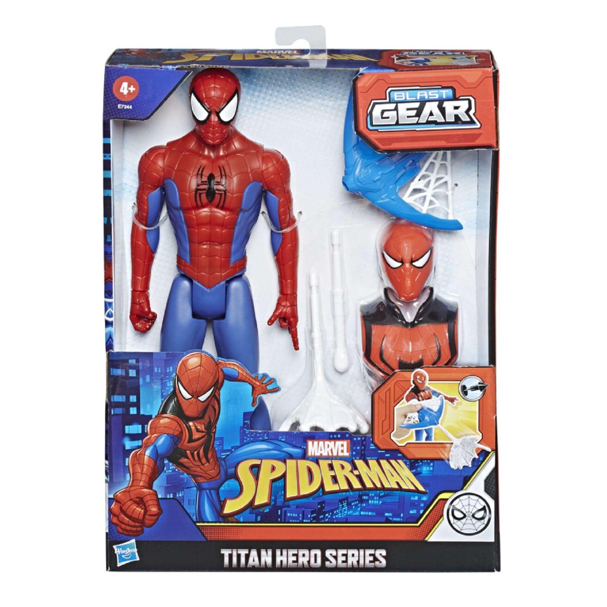 Figura Spider-Man - Titan Hero Series com Acessórios