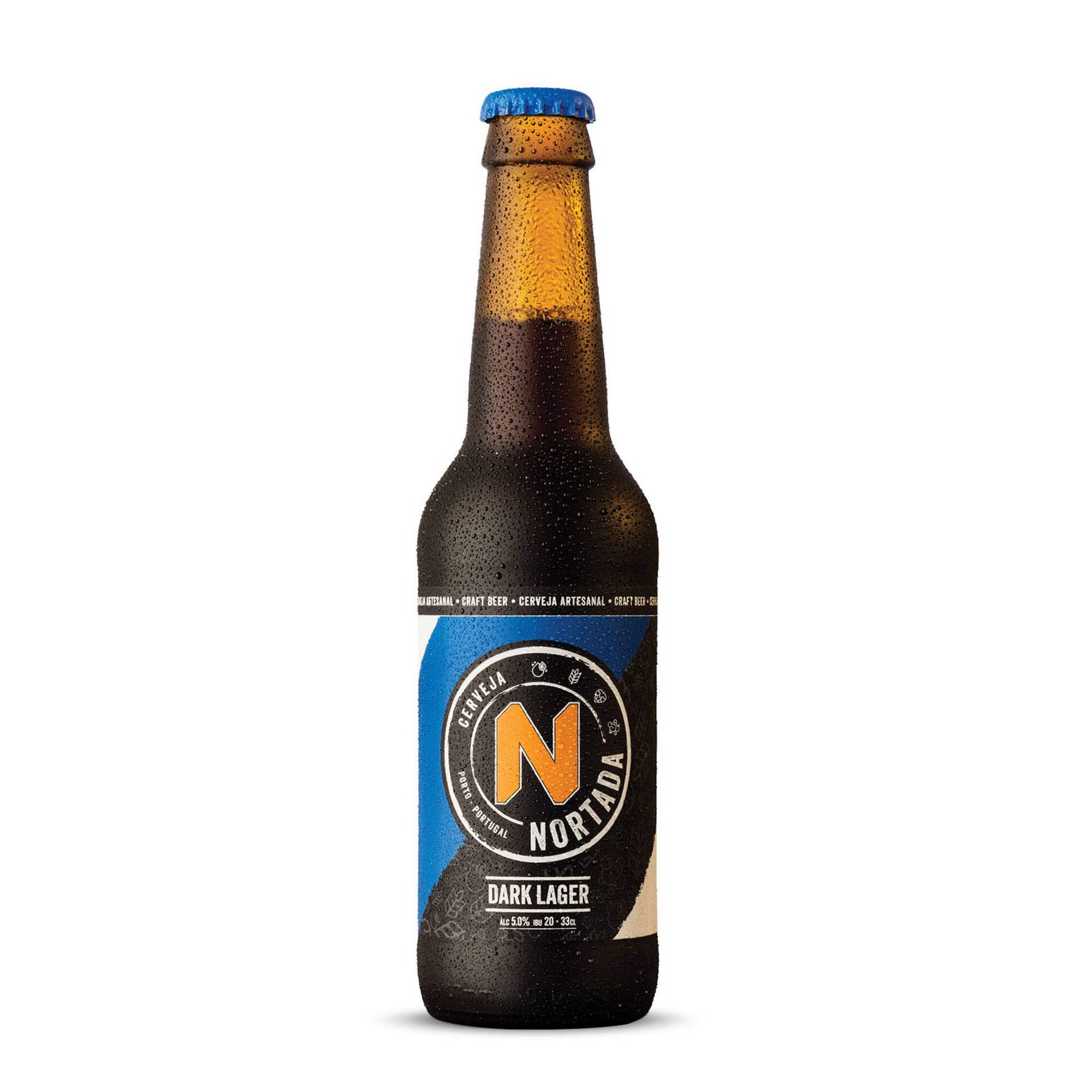 Cerveja com Álcool Dark Lager Garrafa