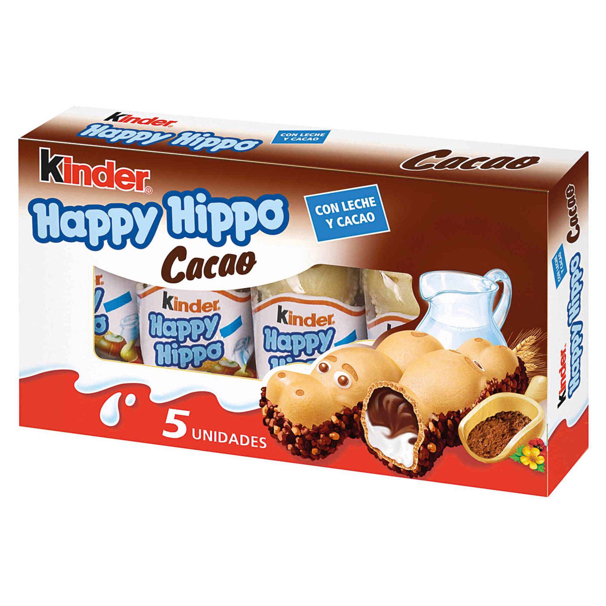 Snack de Chocolate Happy Hippo