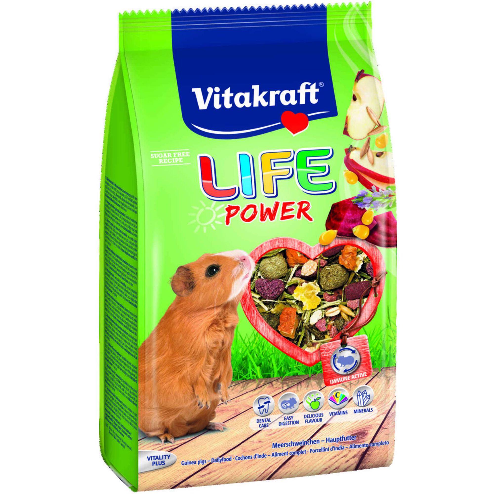 Comida para Cobaia Menu Life