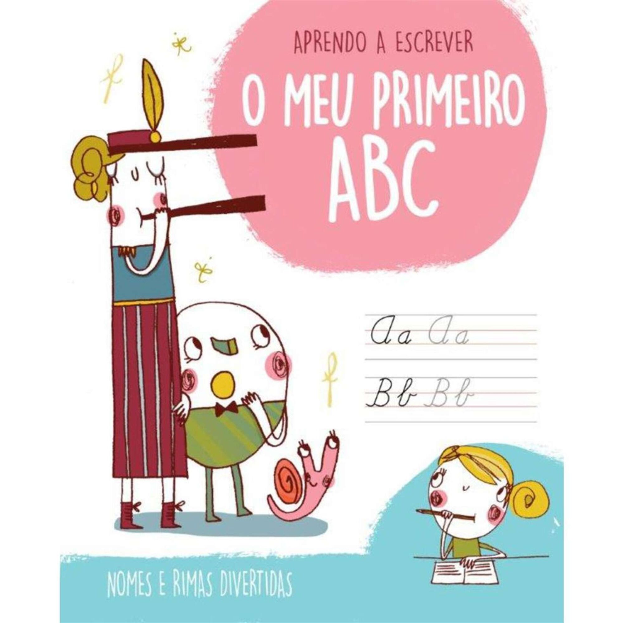 O Meu Primeiro ABC - Nomes de Meninas e Rimas Divertidas