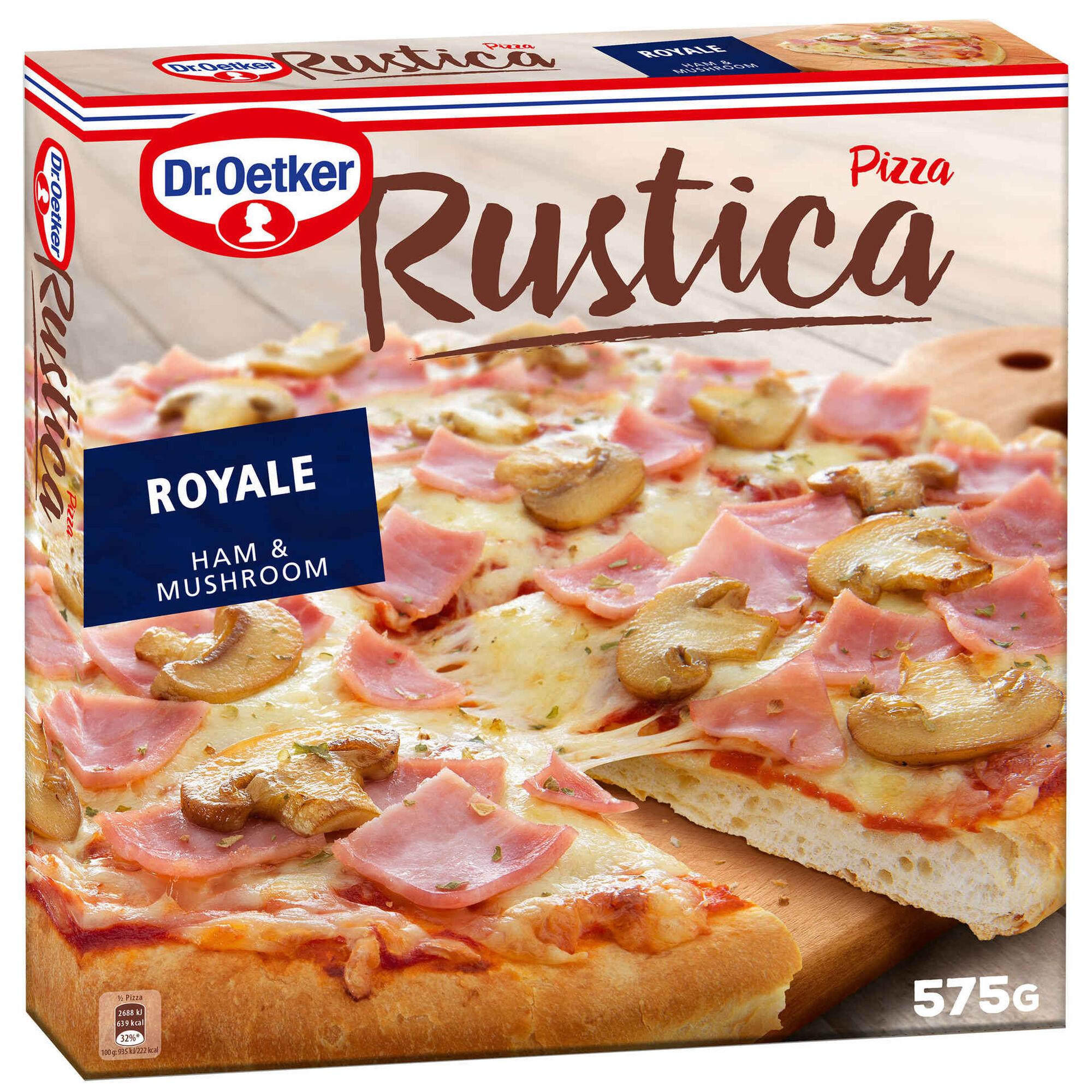 Pizza Rústica Royale