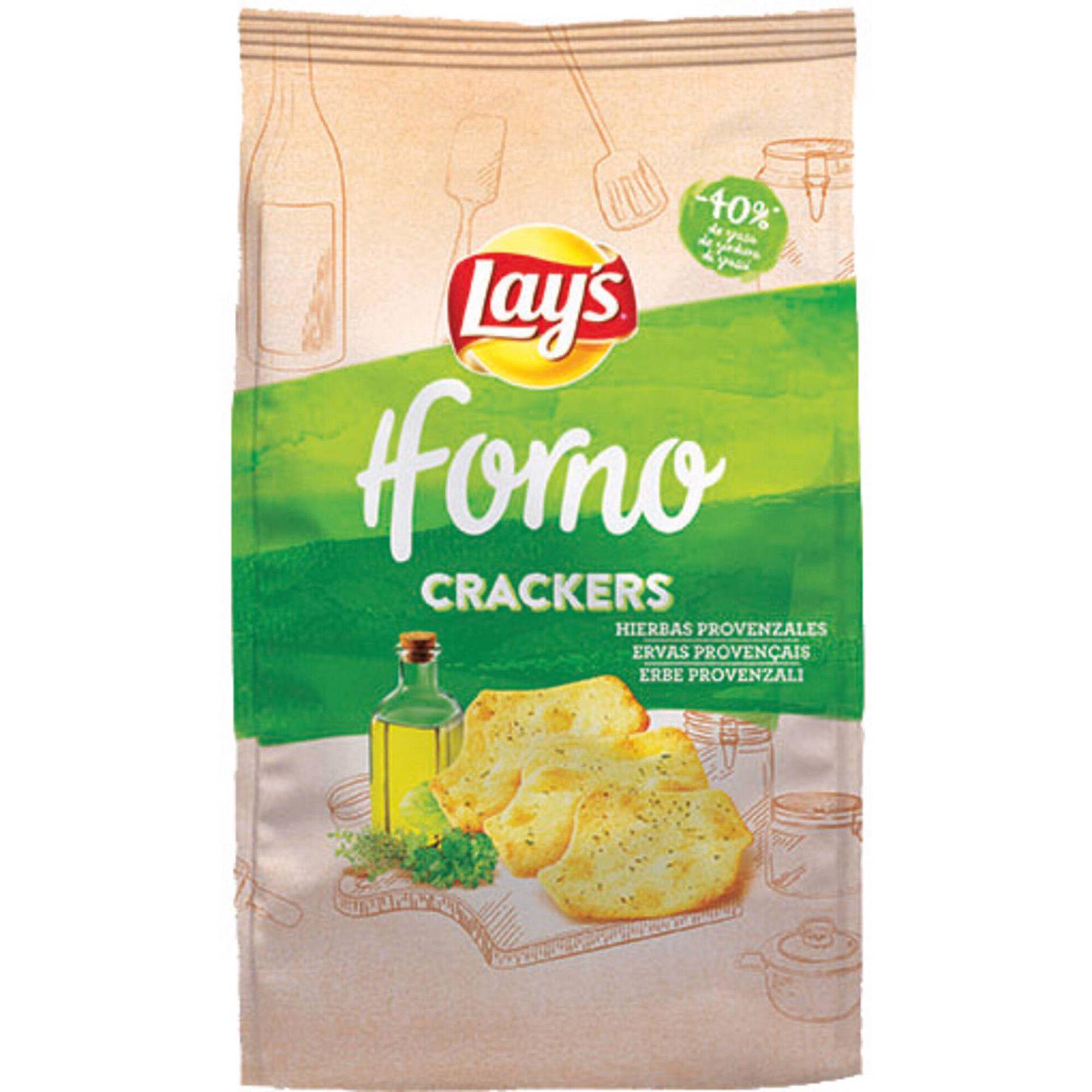 Batata Frita Crackers Forno Ervas Provençais
