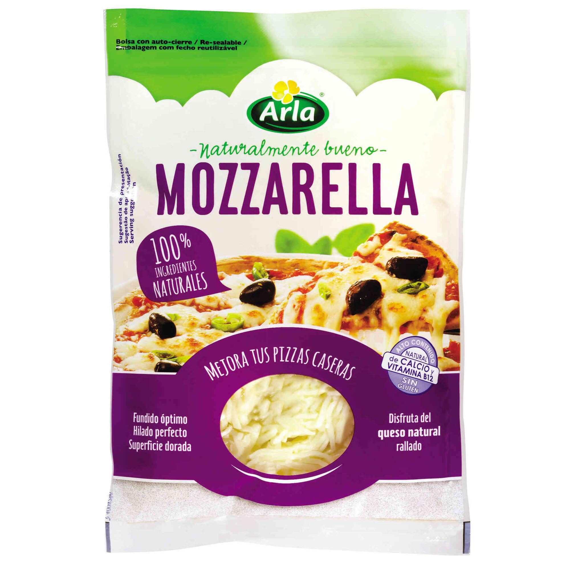 Queijo Mozzarella Ralado