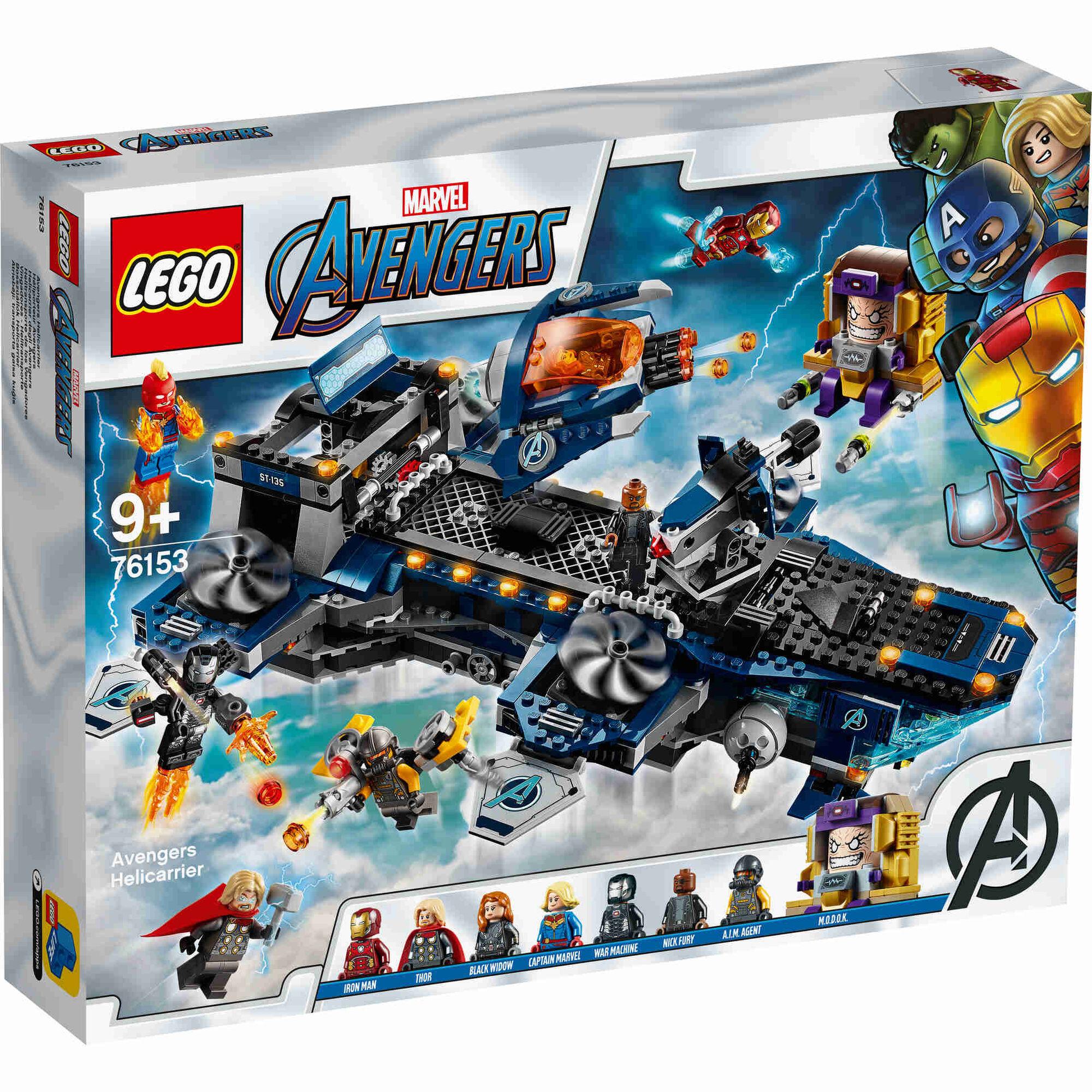 Vingadores: Helitransporte - 76153