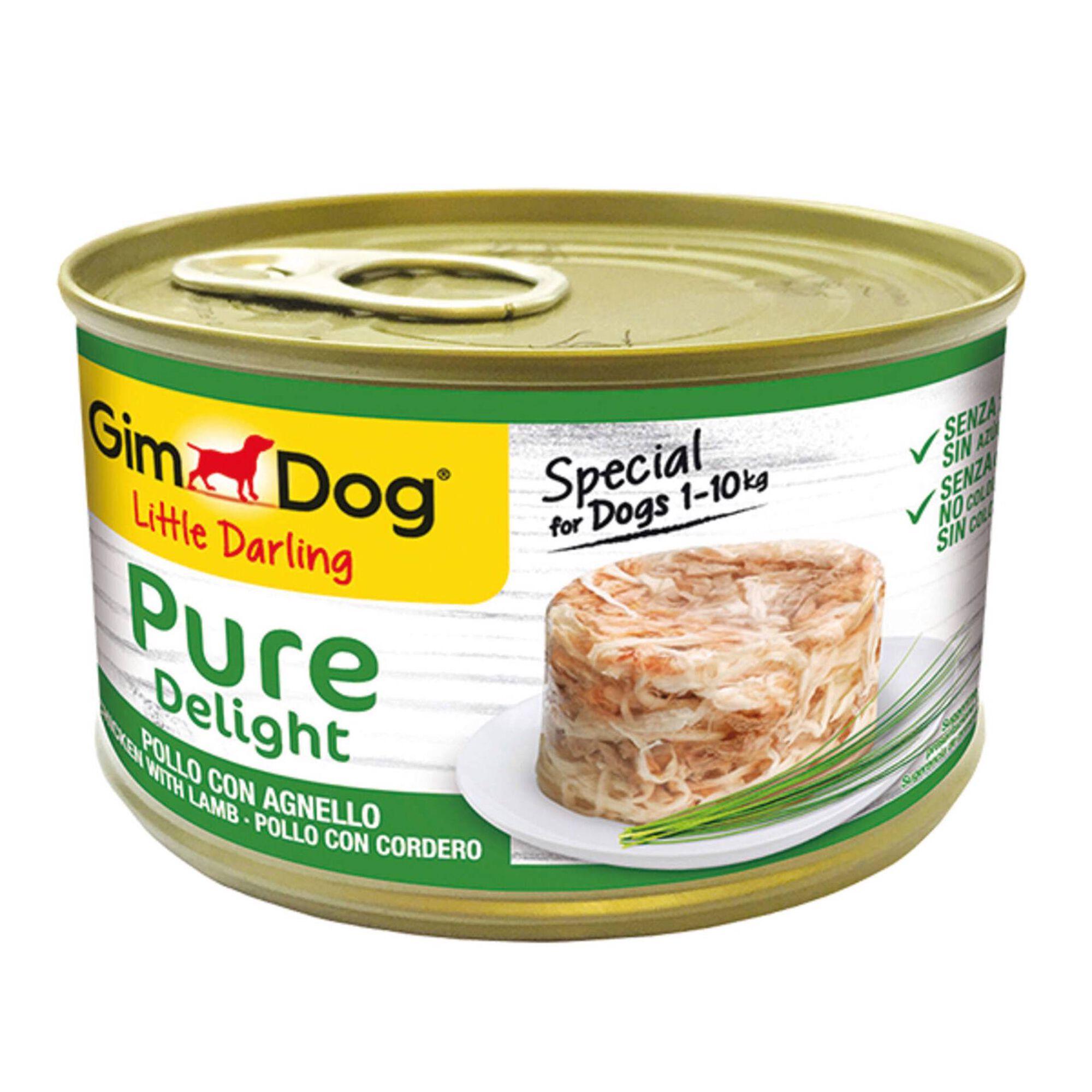 Comida Húmida para Cão Delight Frango e Borrego Lata
