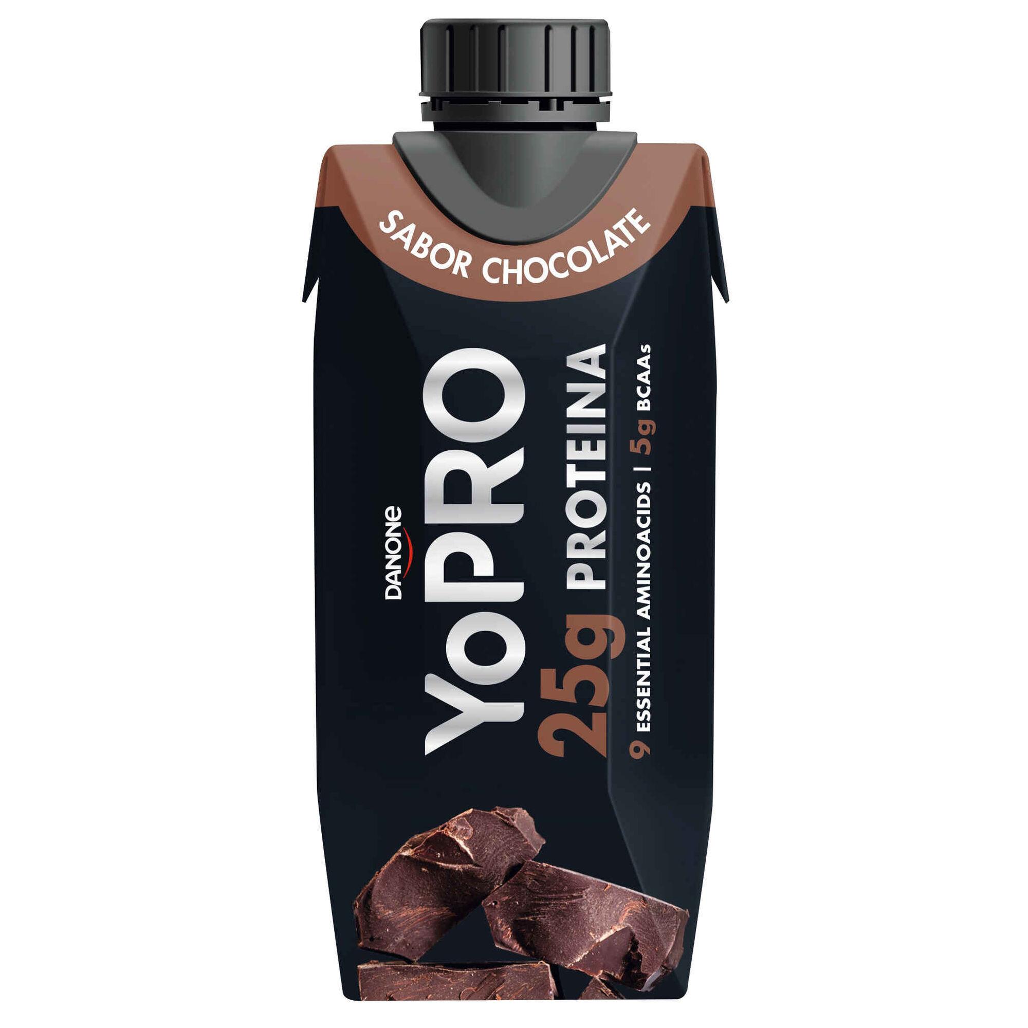 Leite Aromatizado com Proteína de Chocolate Yopro