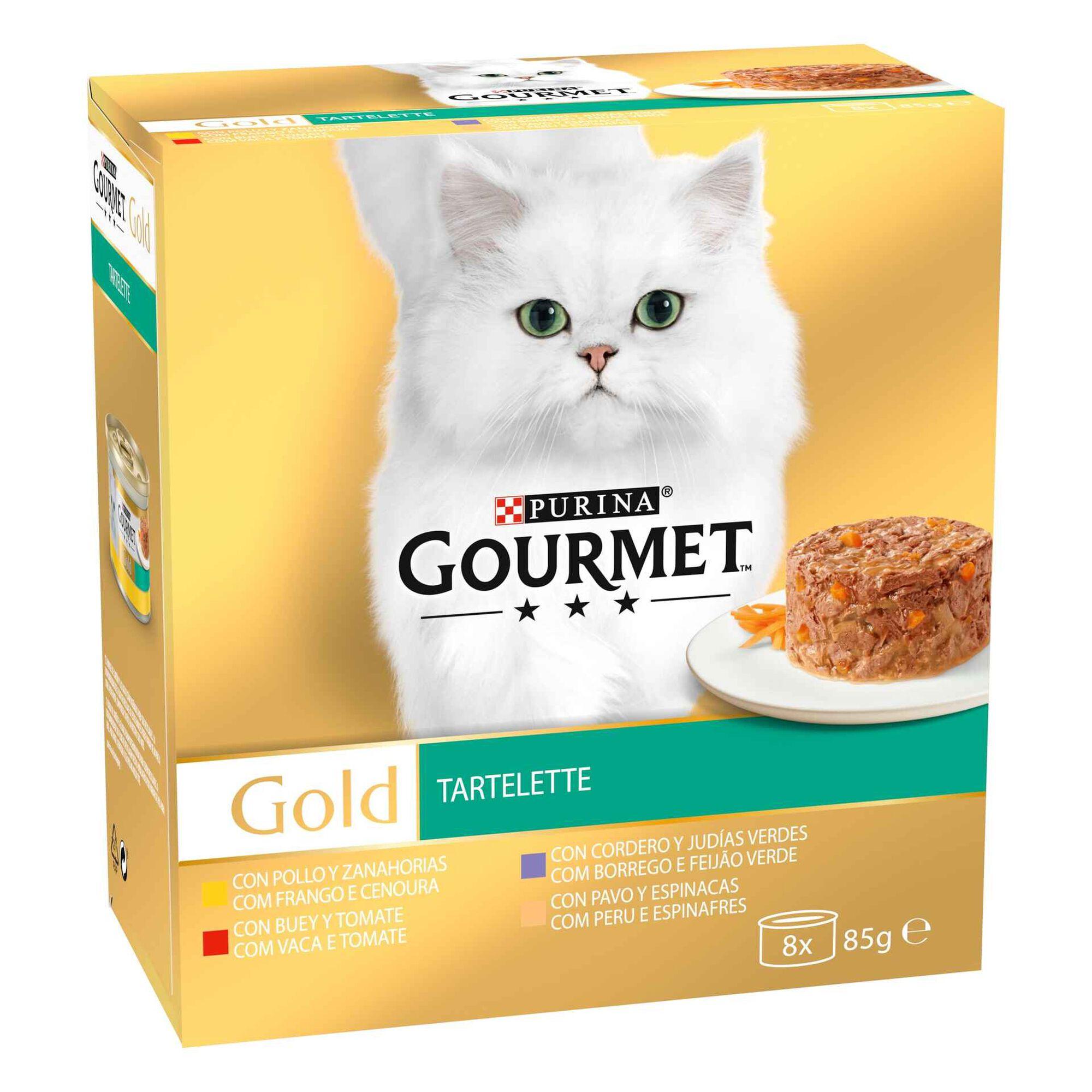 Comida Húmida para Gato Adulto Gold Tartelette Lata