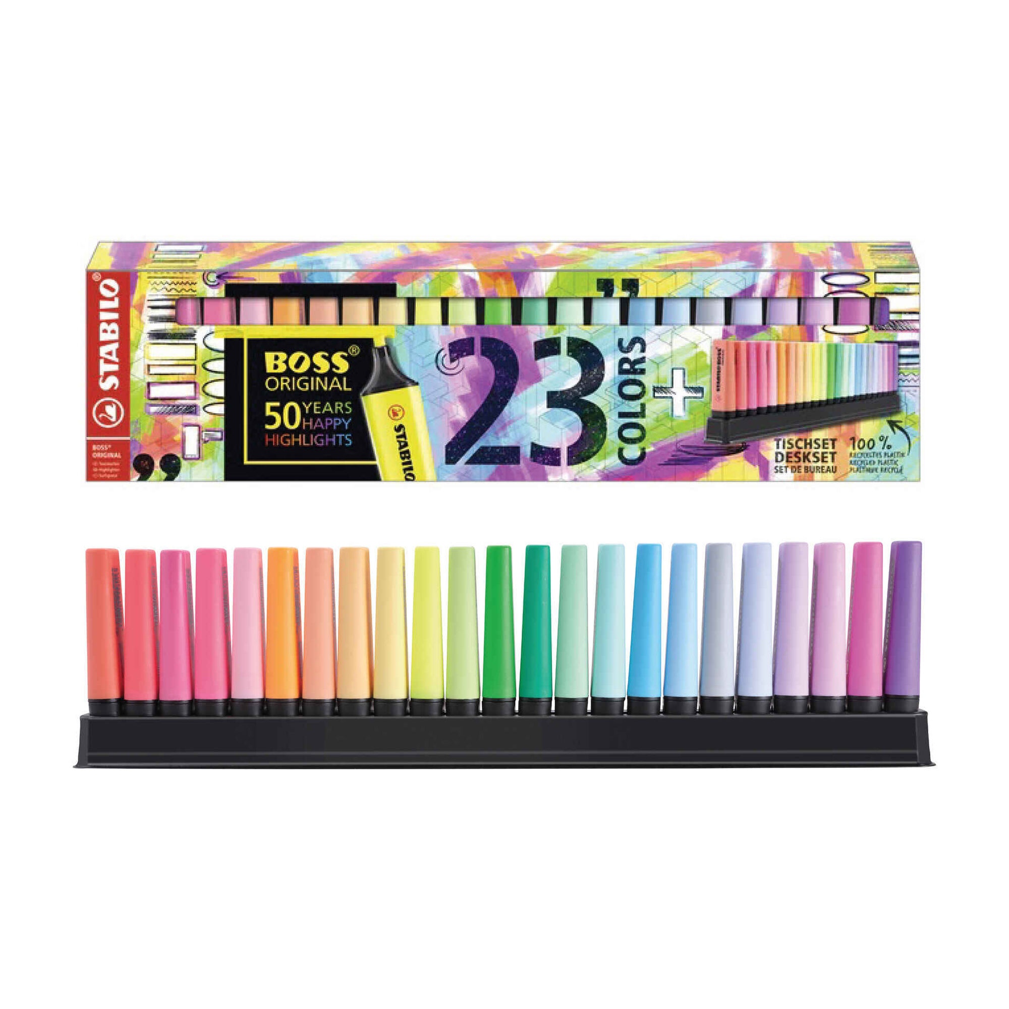 Marcadores de Colorir de Tinta Fluorescente