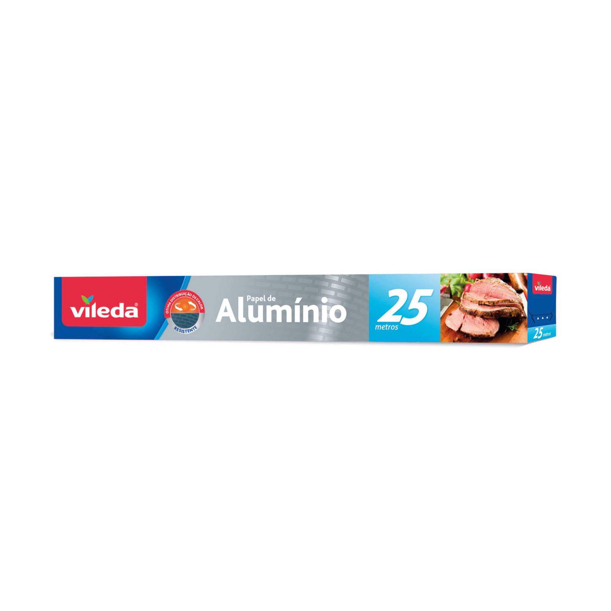 Papel de Alumínio 25m