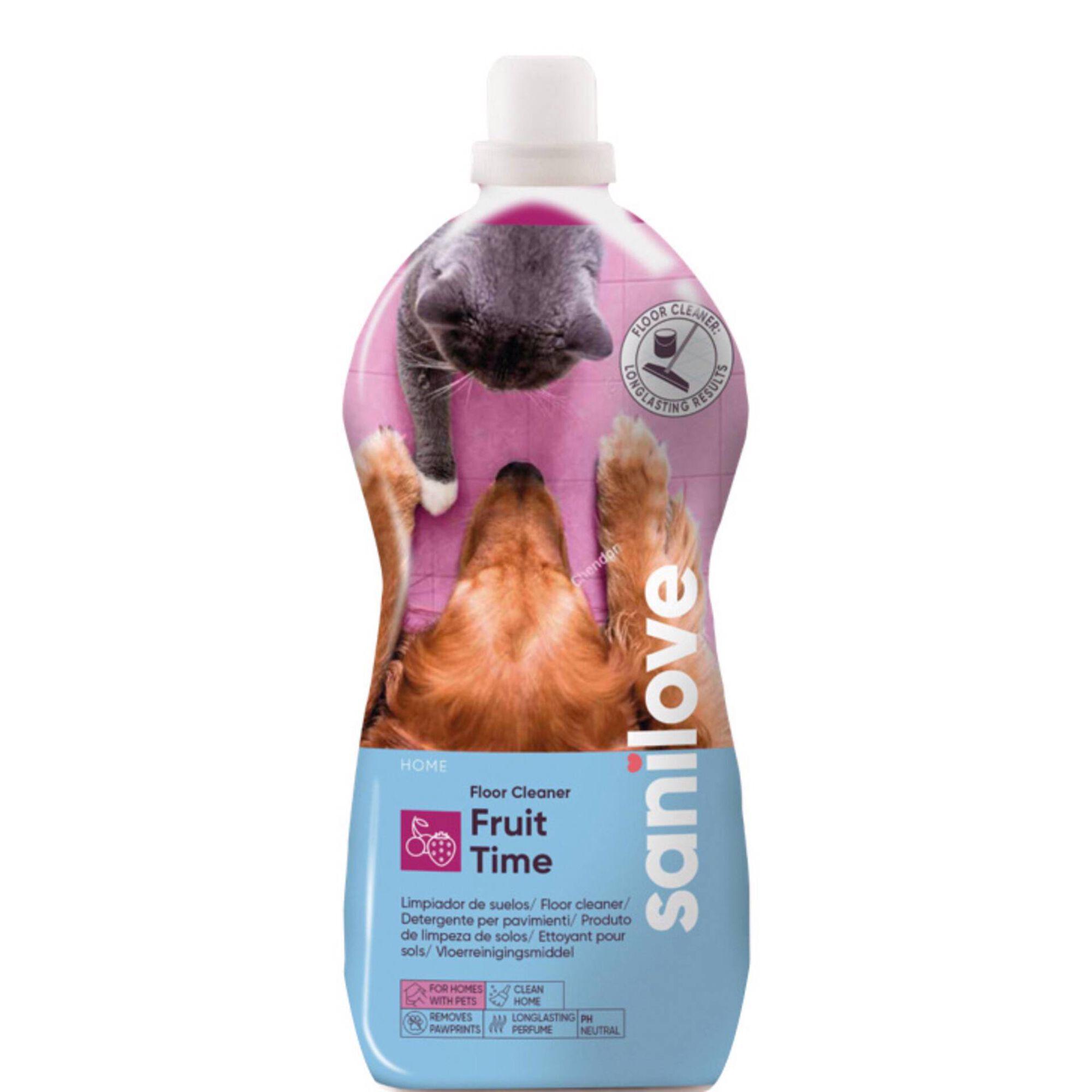 Lava Chão para Cão Fruit Time