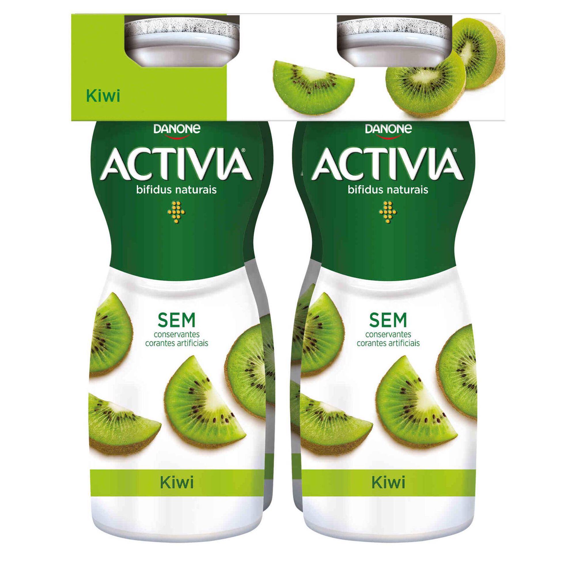 Iogurte Líquido Bifidus Probióticos Kiwi Activia