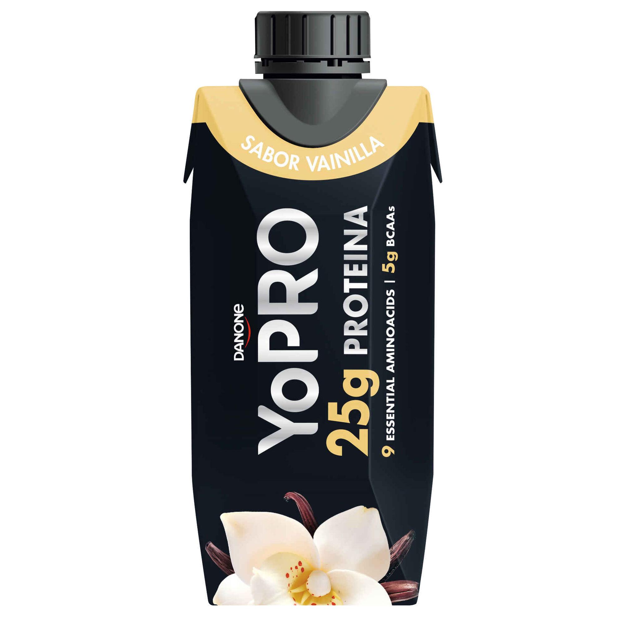 Leite Aromatizado com Proteína Baunilha Yopro