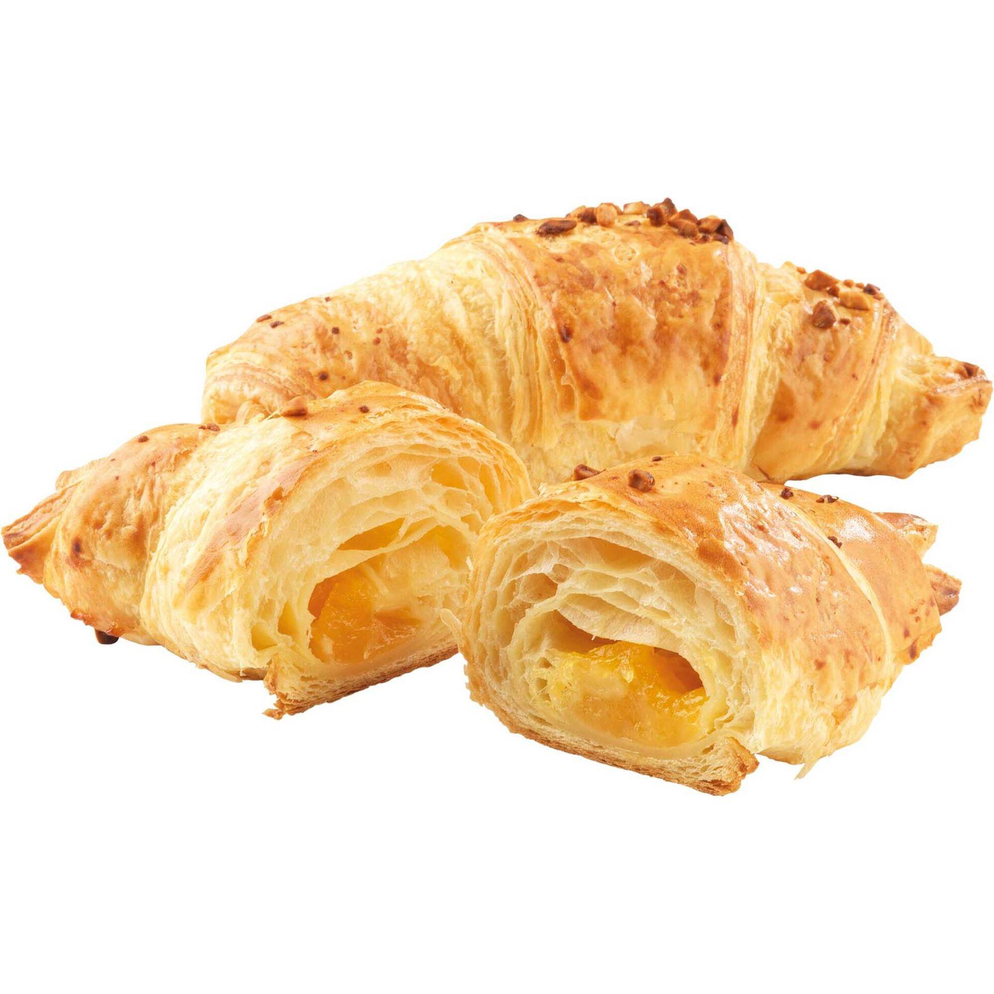 Croissant Folhado com Creme de Ovo