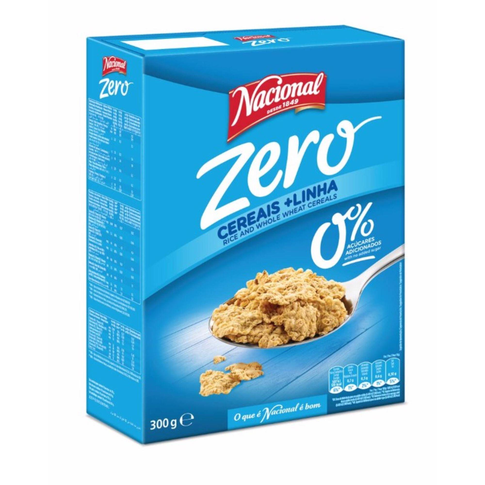 Cereais Linha Zero sem Açúcar