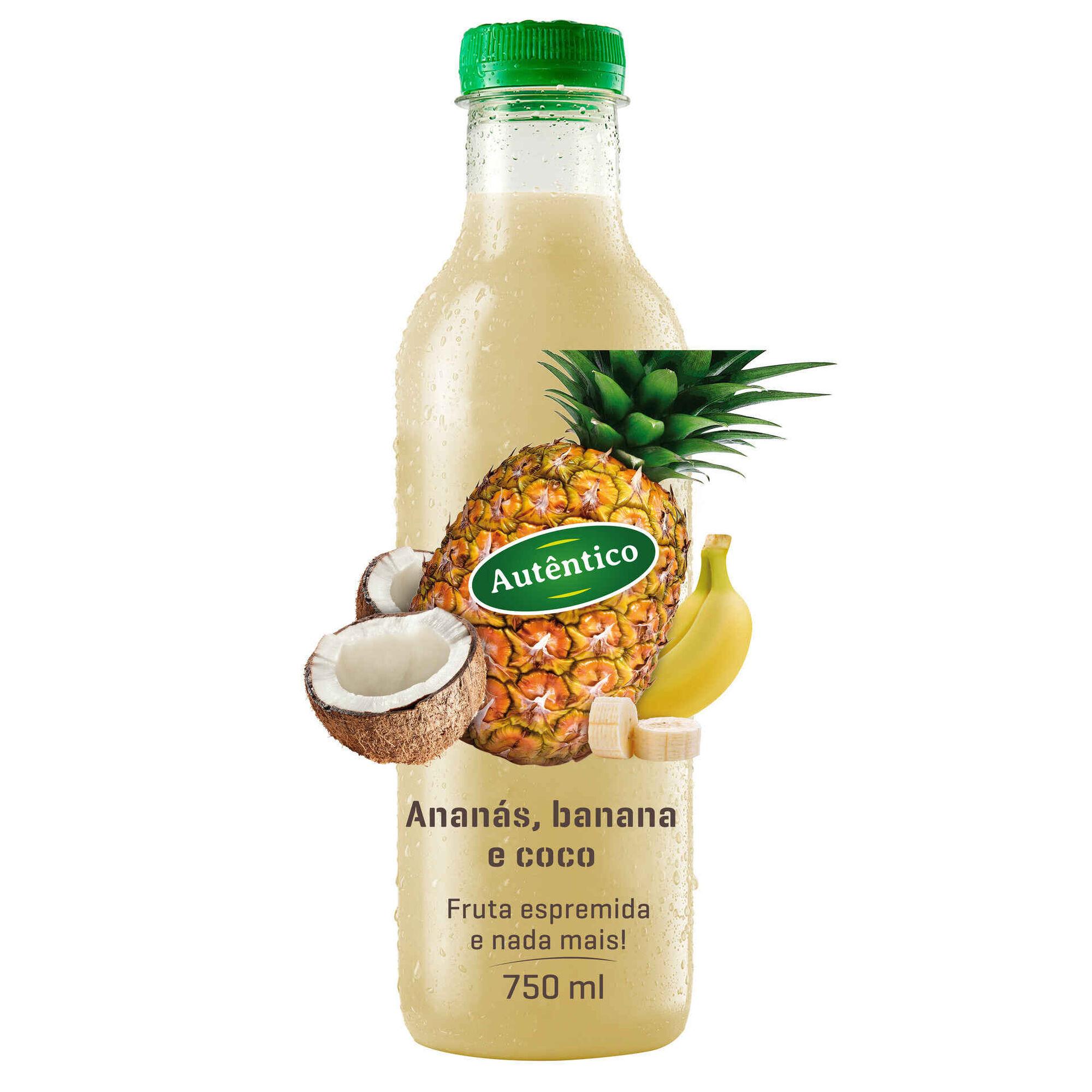 Sumo Ananás, Banana e Coco