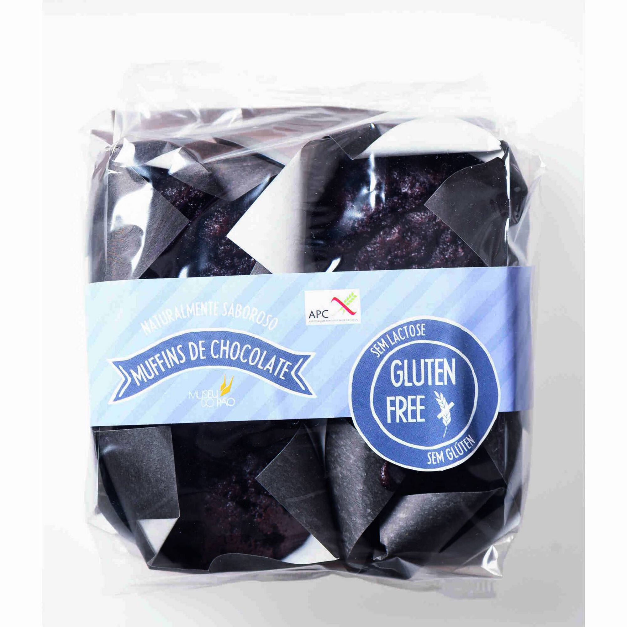 Muffins de Chocolate Sem Glúten