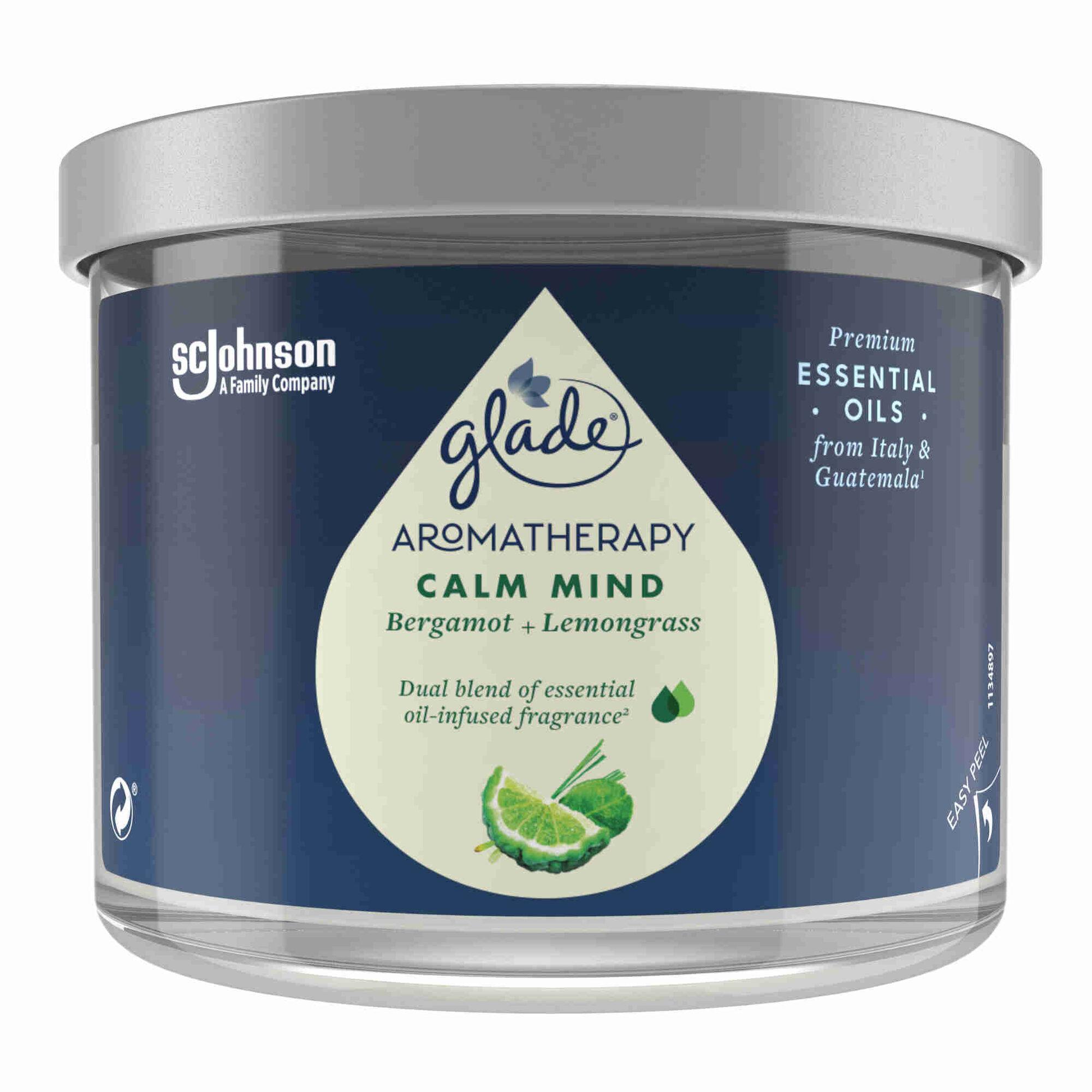 Ambientador Vela Aromatherapy Calm Mind