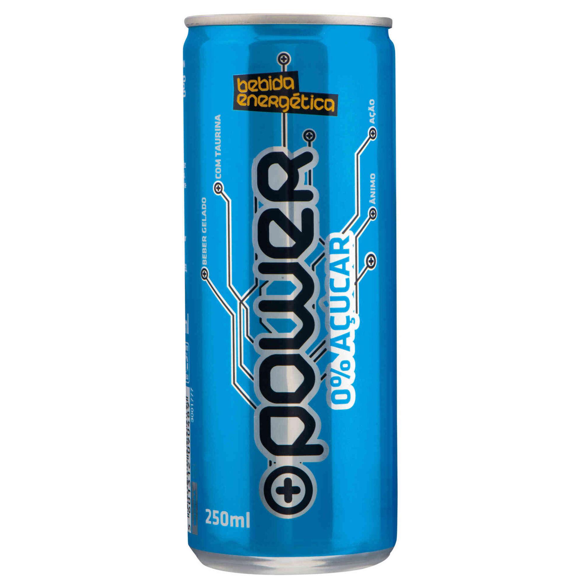 Bebida Energética sem Açúcar