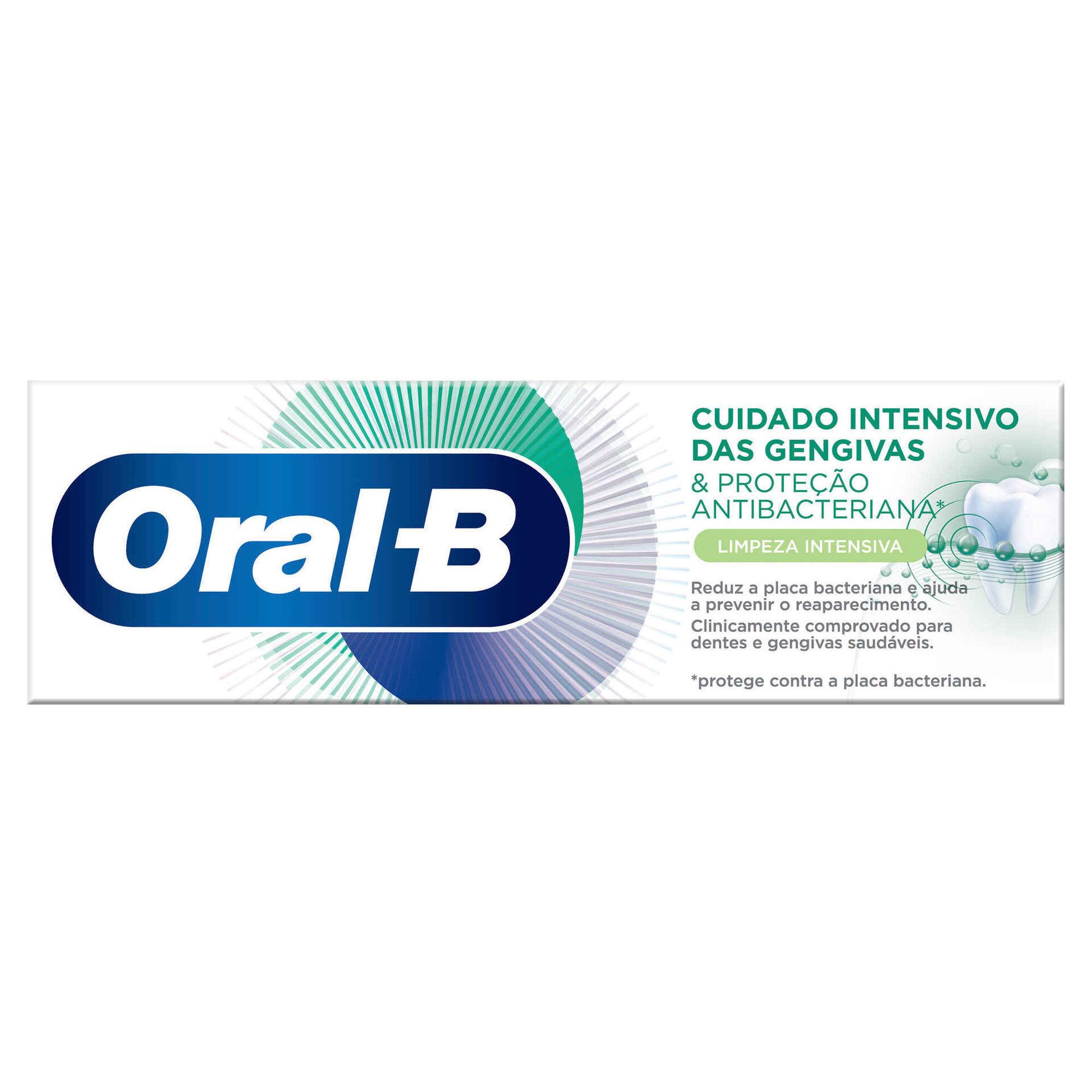 Pasta de Dentes Cuidado Intensivo Gengivas e Proteção Antibacteriana