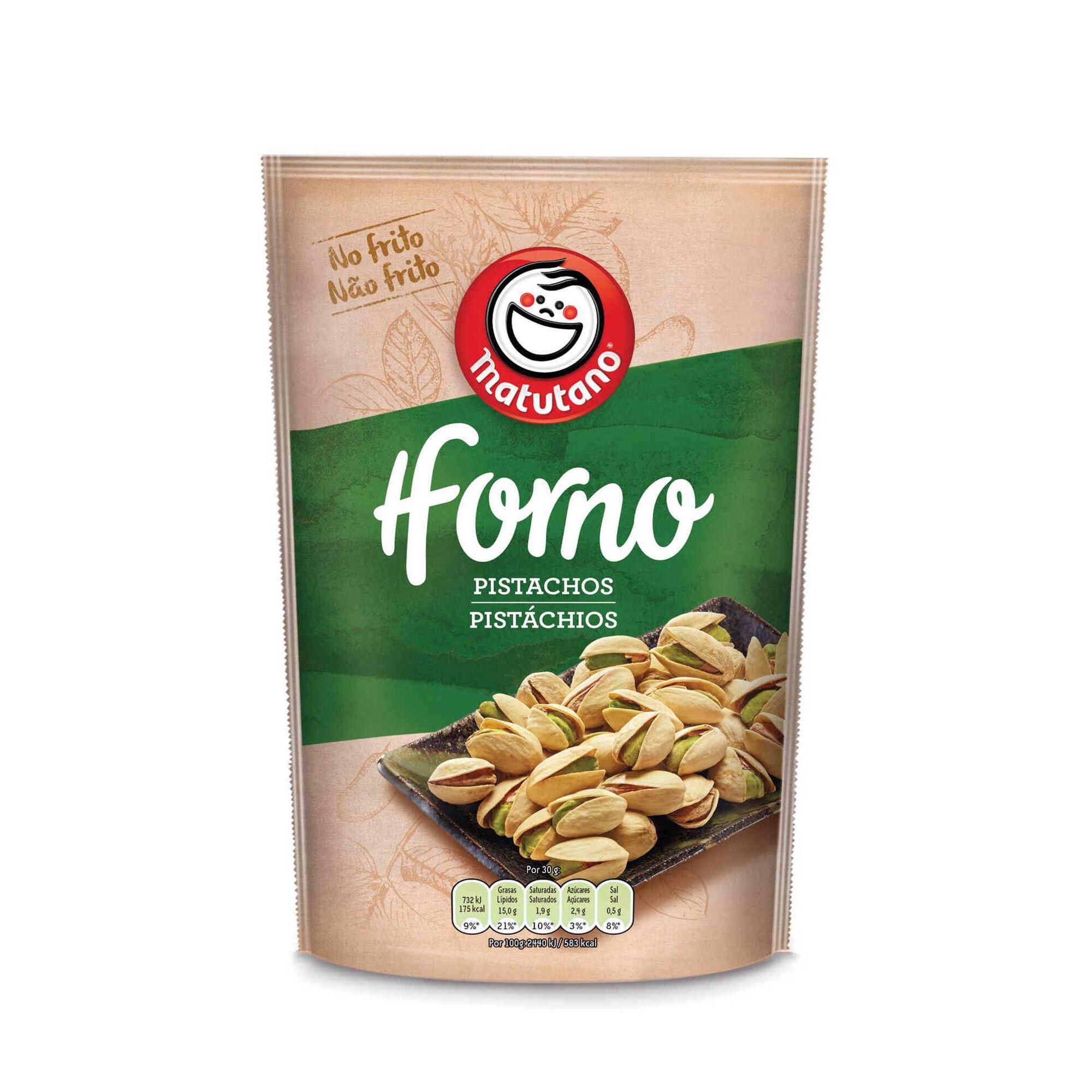 Snack Pistacho no Forno