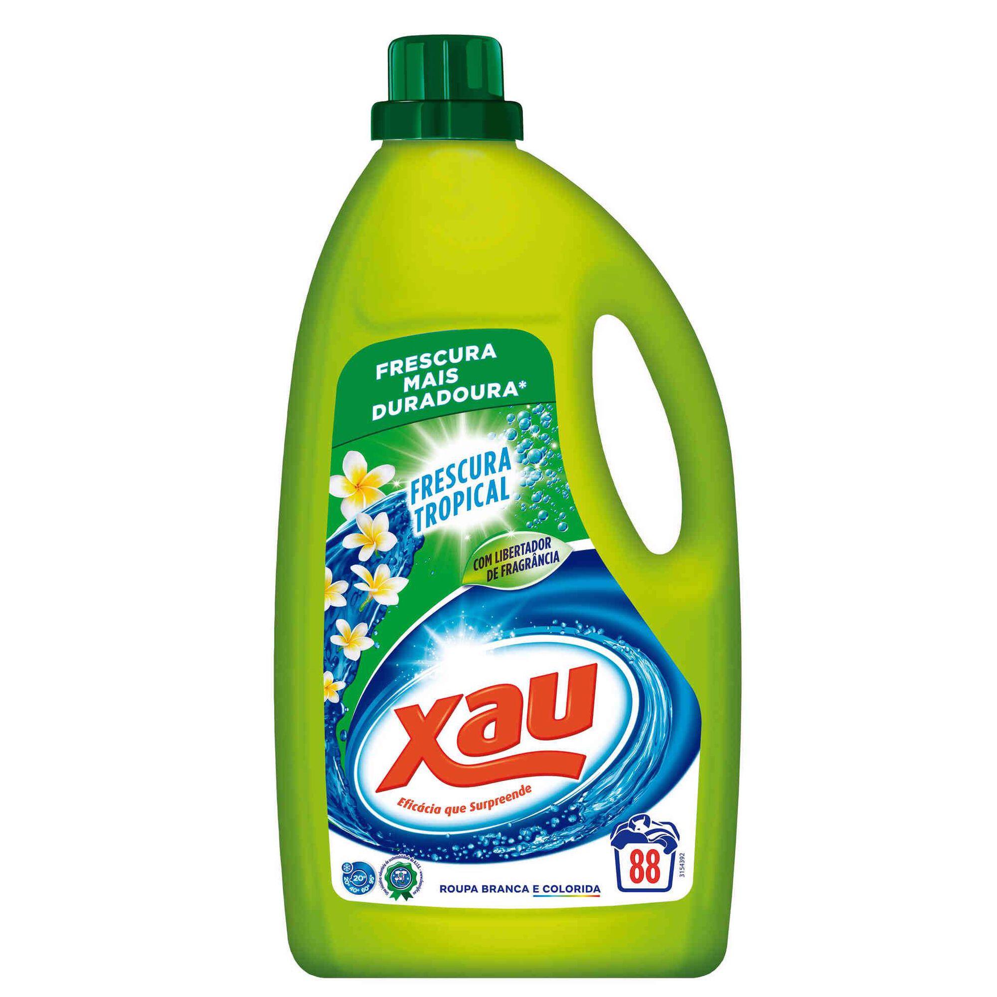 Detergente Máquina Roupa Líquido Frescura Tropical