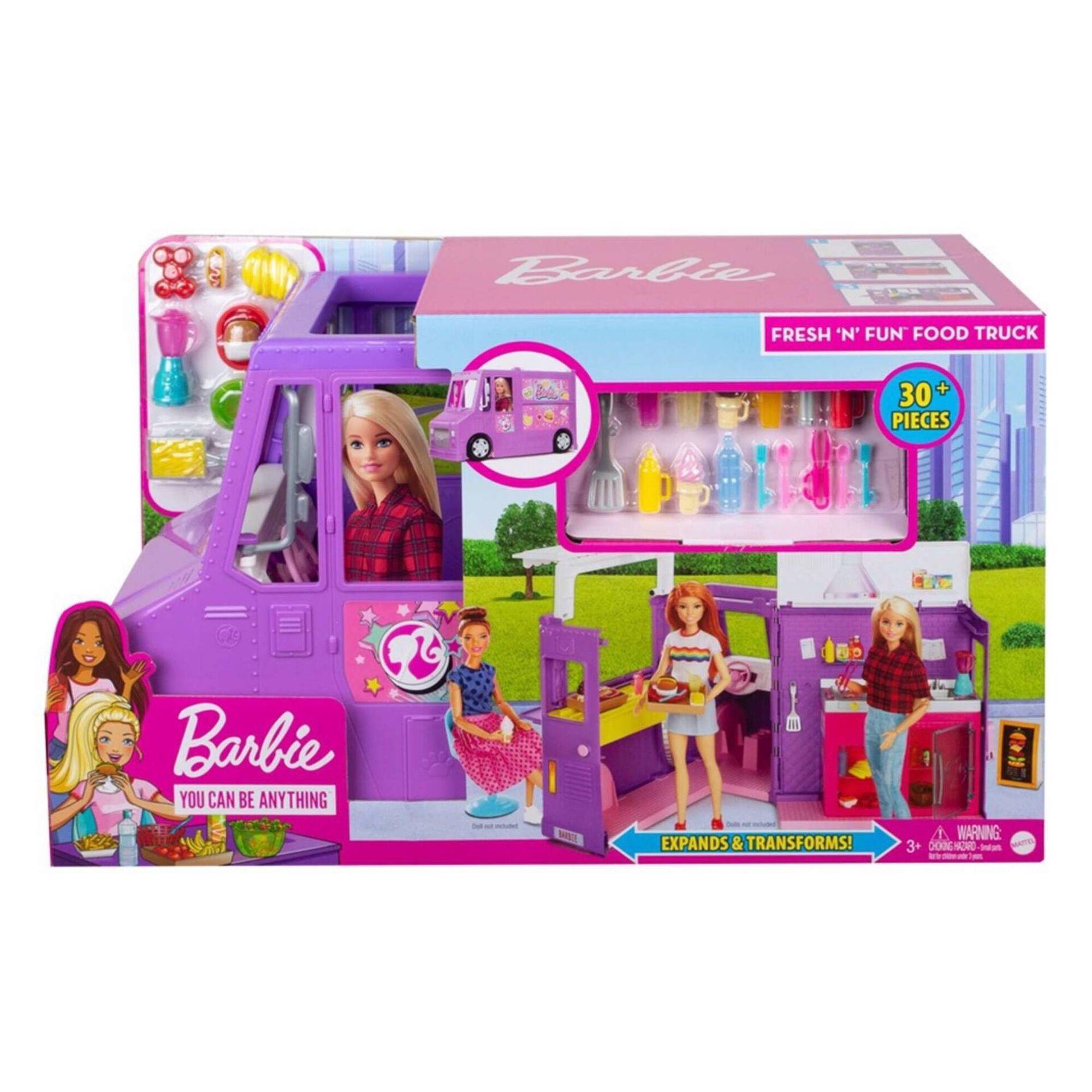 Restaurante Móvel da Barbie